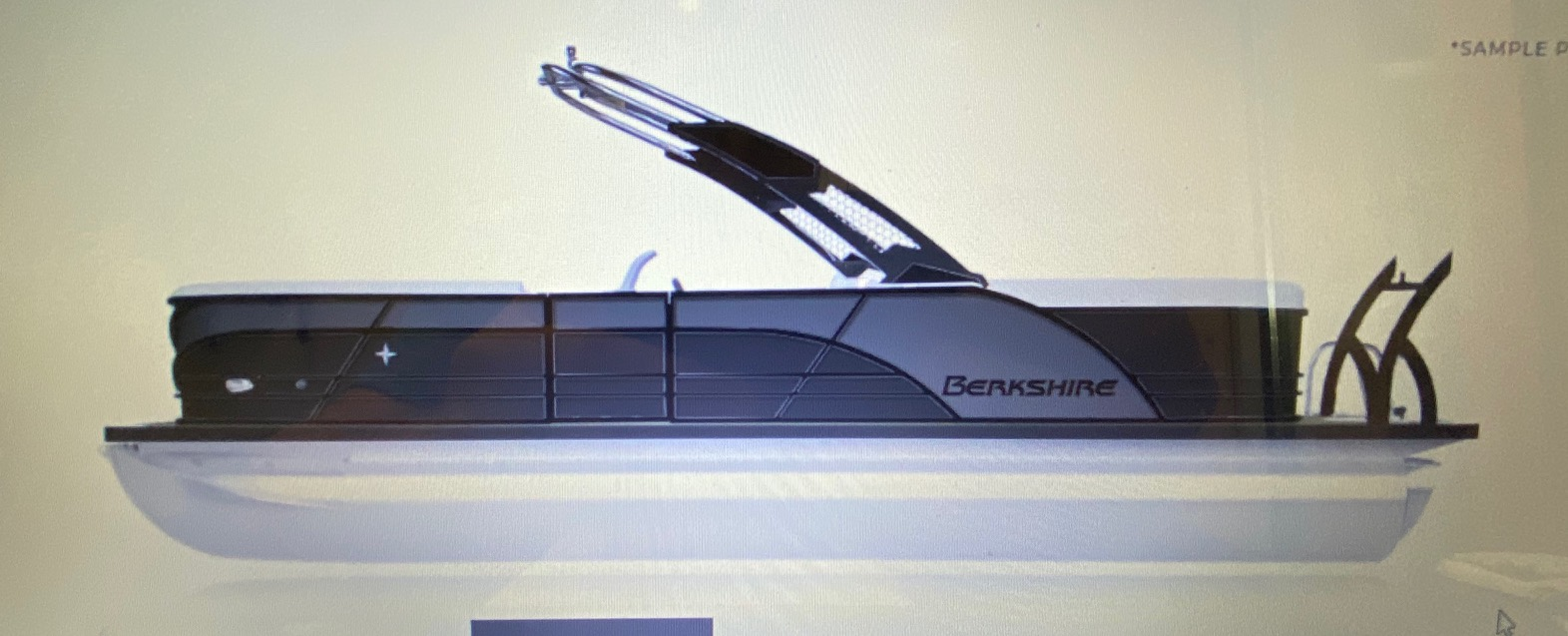 2021 BERKSHIRE STS Series 25RFX 3.0 Tri-toon  (On order, secure yours