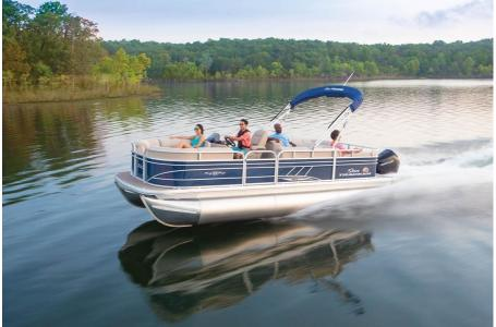 2020 Sun Tracker boat for sale, model of the boat is Party Barge 22RF XP3 w/150L 4S & Image # 2 of 3