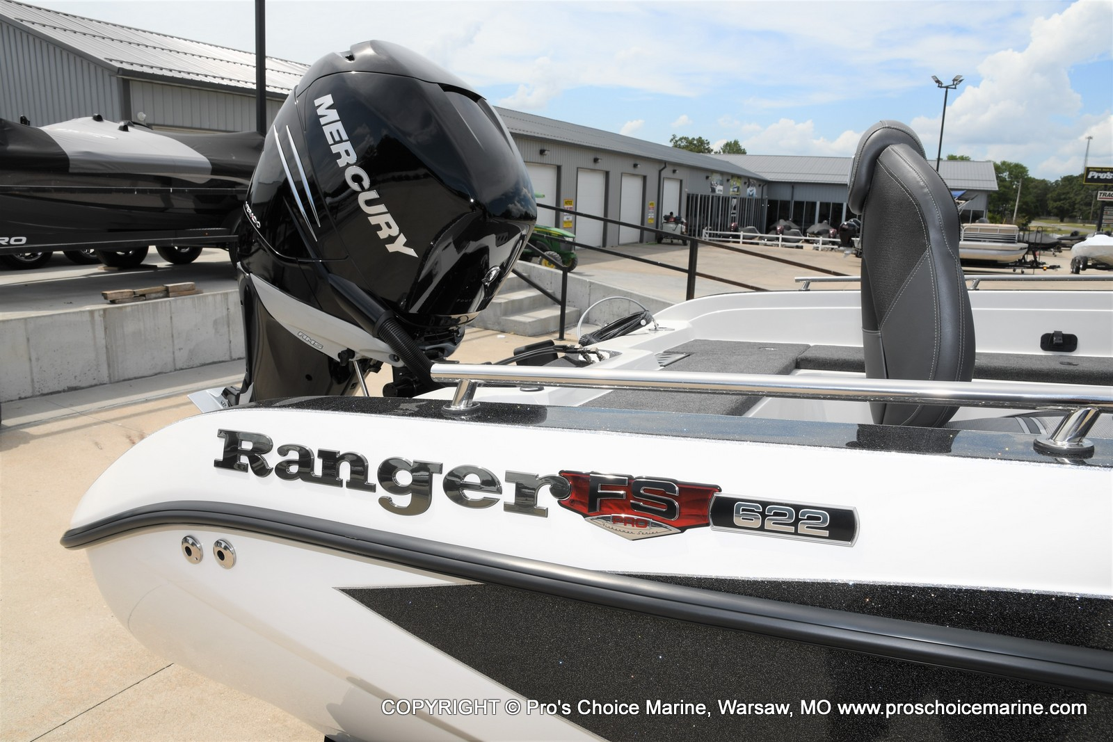 2021 Ranger Boats boat for sale, model of the boat is 622FS PRO w/400HP VERADO & Image # 38 of 50