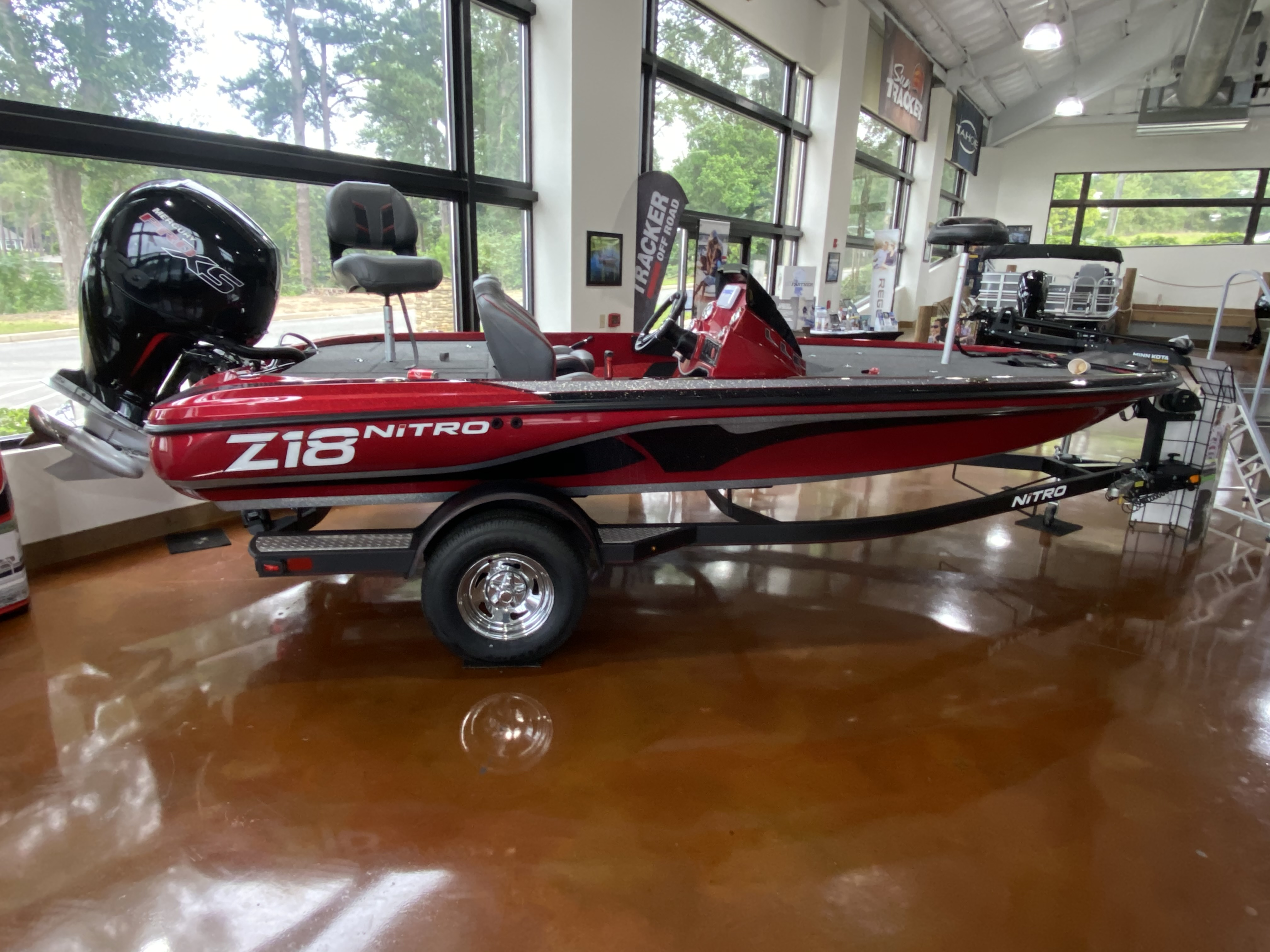 2021 Nitro boat for sale, model of the boat is Z18 W/150L PXS4 & Image # 1 of 41
