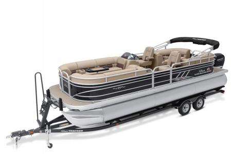 2020 Sun Tracker boat for sale, model of the boat is Signature Party Barge 24 XP3 w/150L 4S & Image # 1 of 3