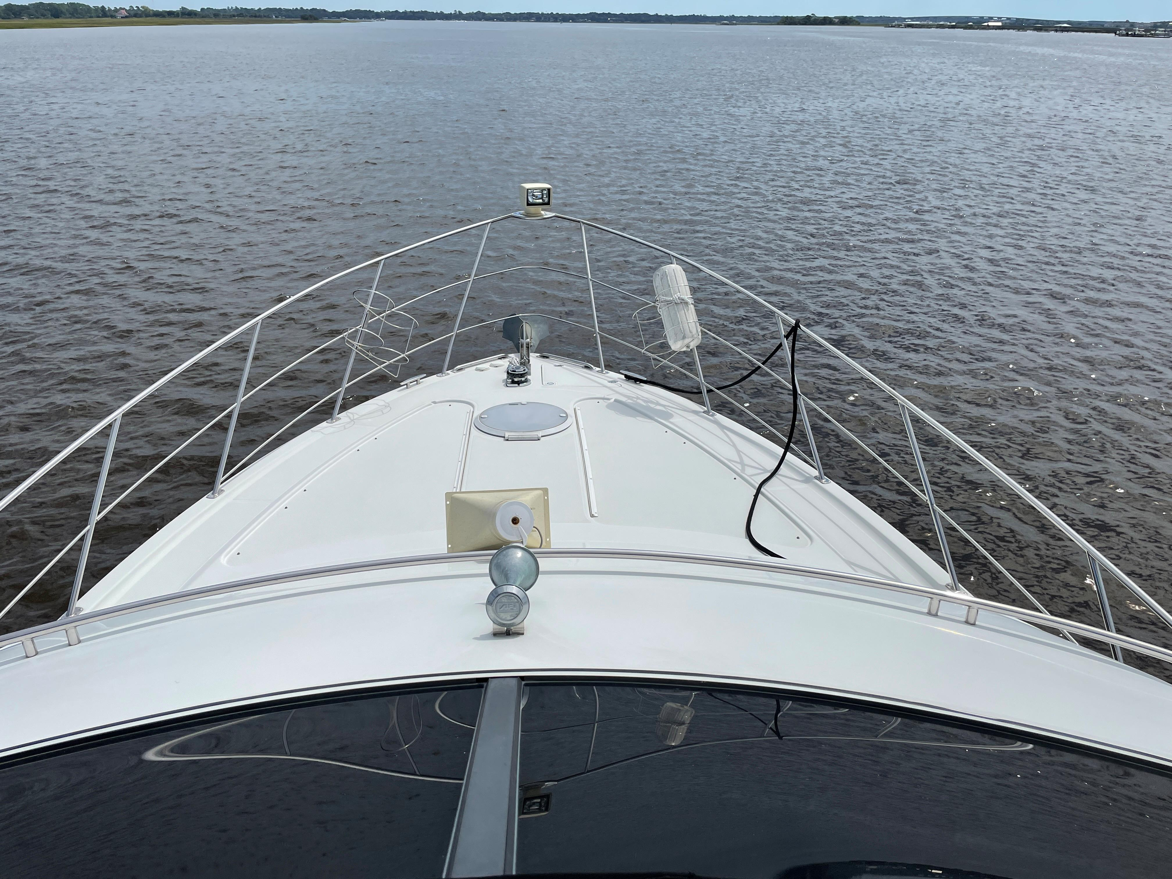 Carver 444 Cockpit Motor Yacht - View From Helm