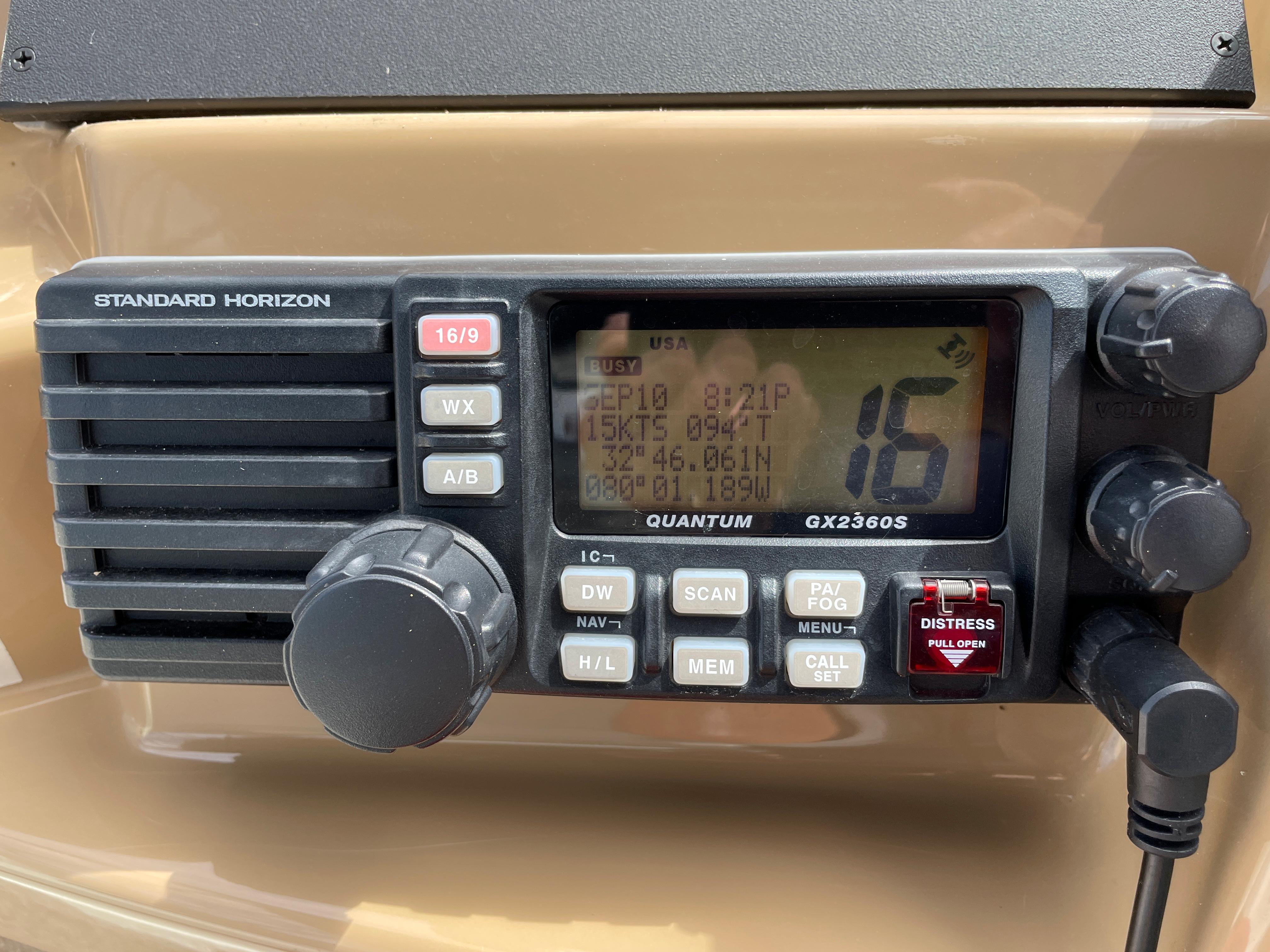 Carver 444 Cockpit Motor Yacht - VHF Radio