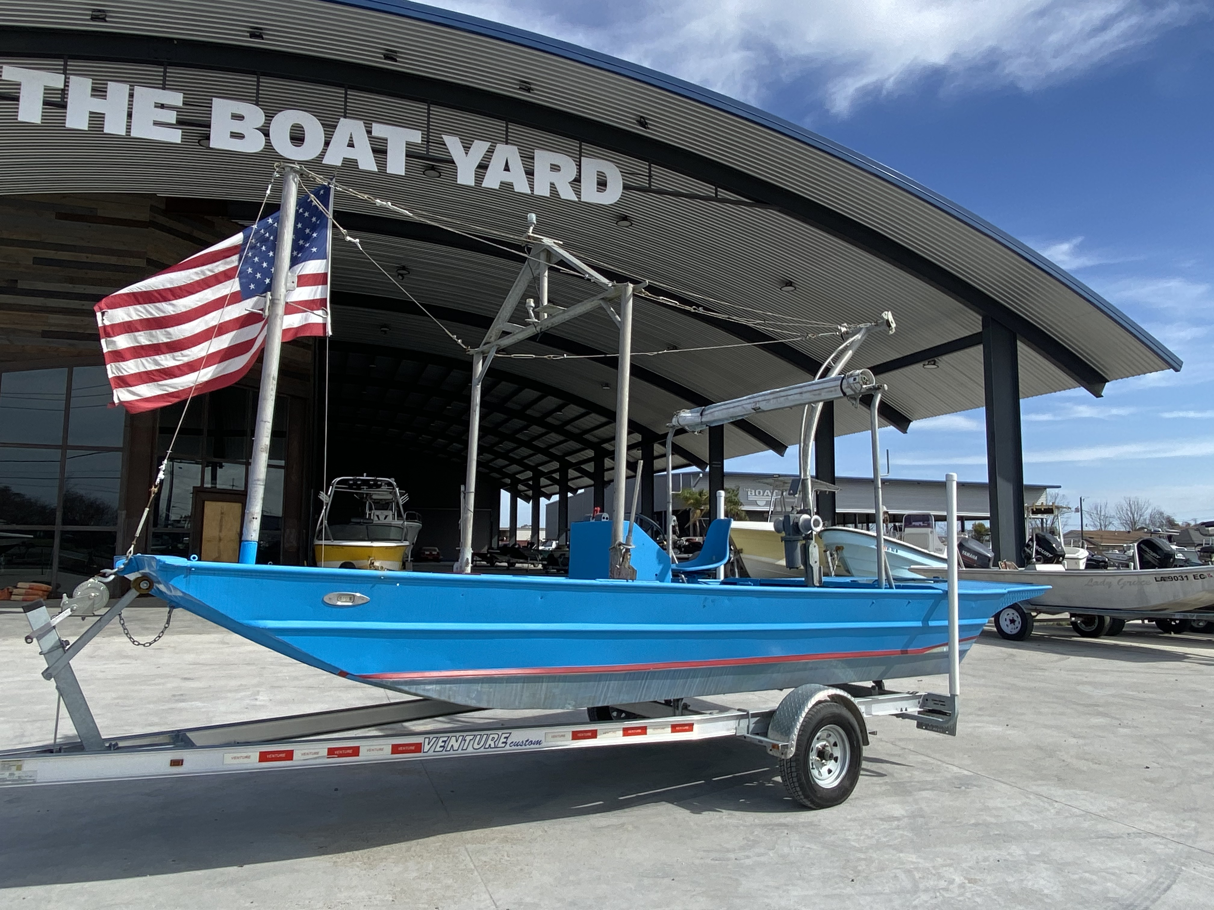 1978 Aluminum boat for sale, model of the boat is 18 Shrimp & Image # 2 of 12