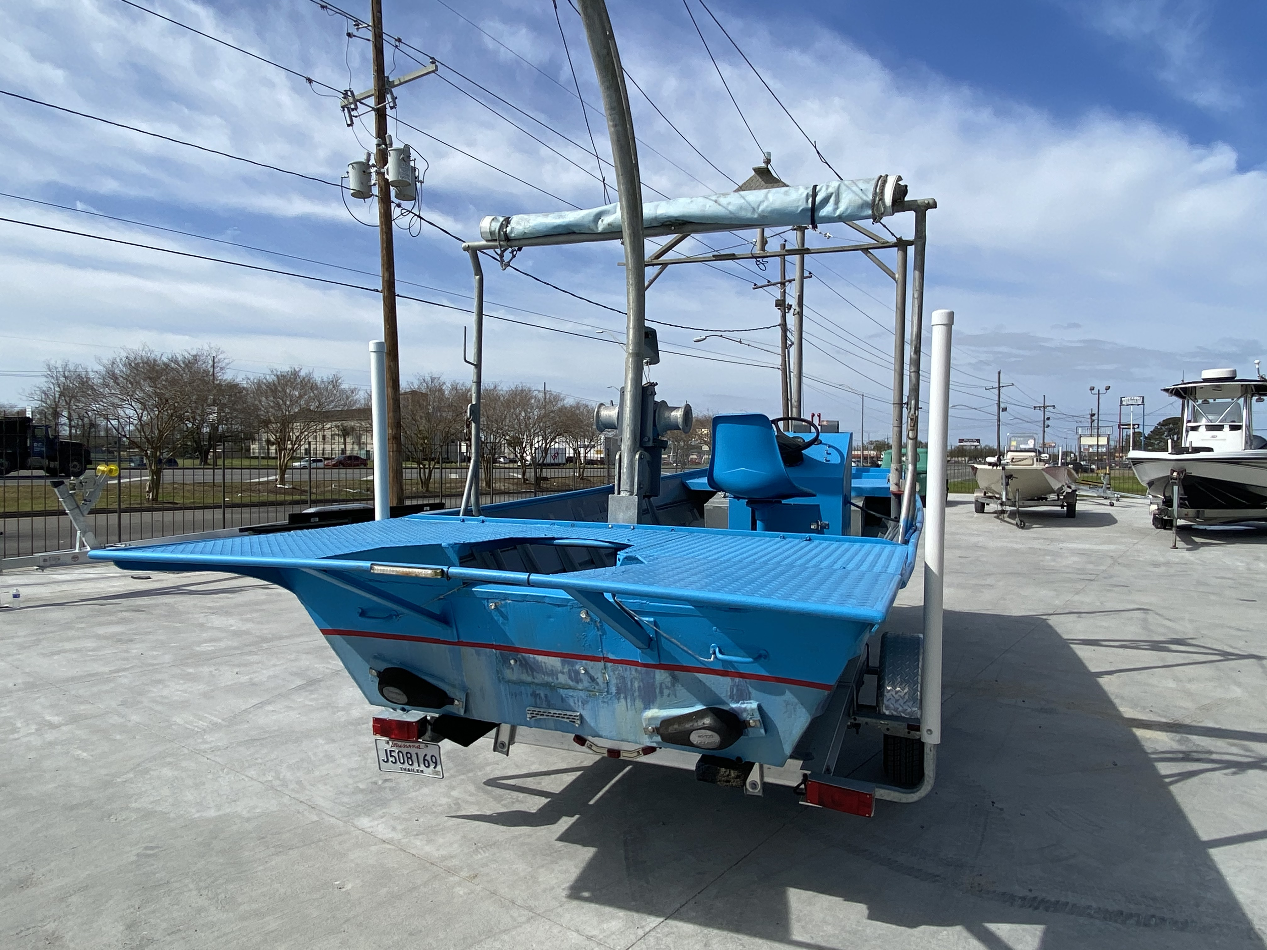 1978 Aluminum boat for sale, model of the boat is 18 Shrimp & Image # 5 of 12