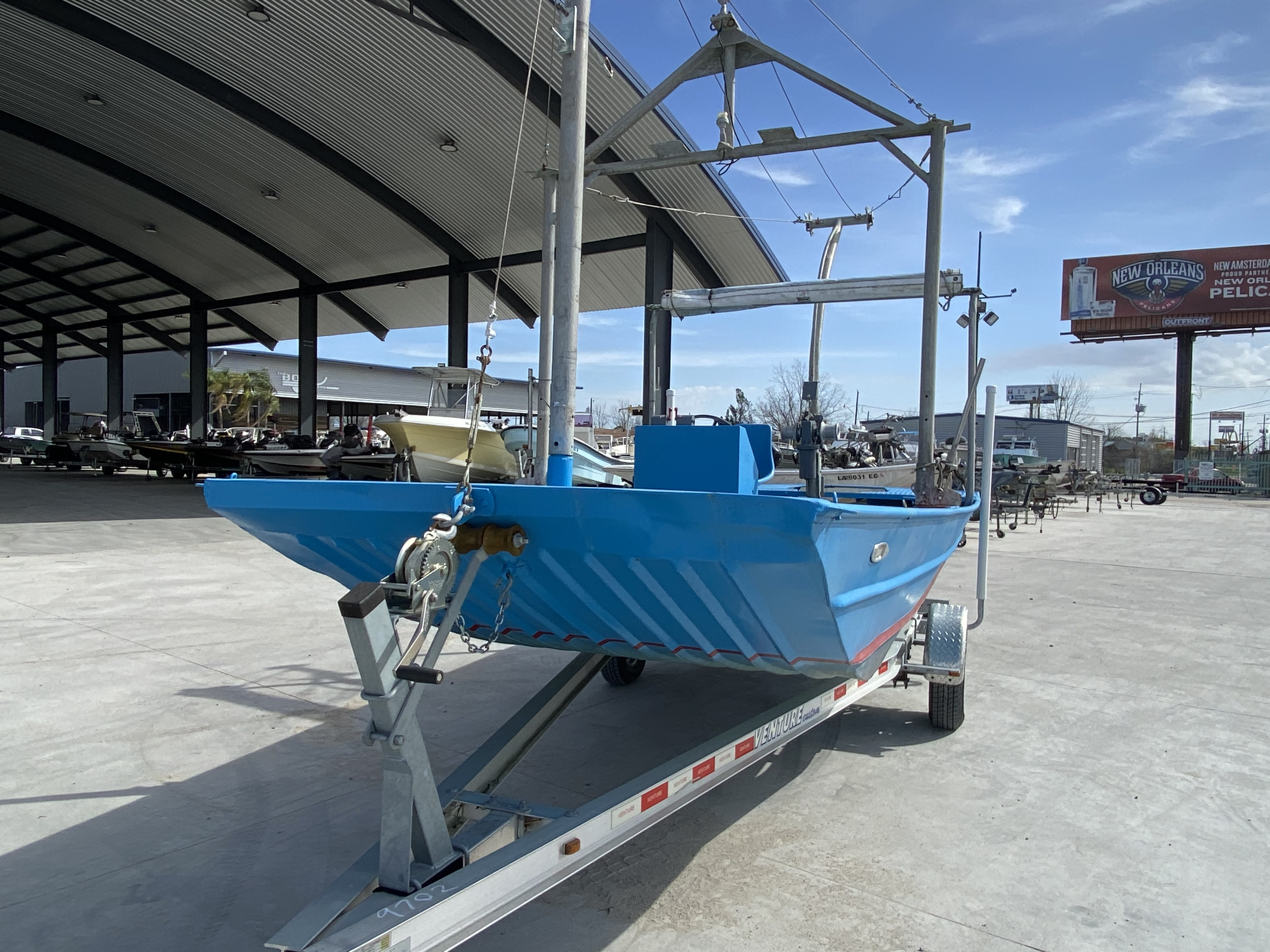 1978 Aluminum boat for sale, model of the boat is 18 Shrimp & Image # 6 of 12