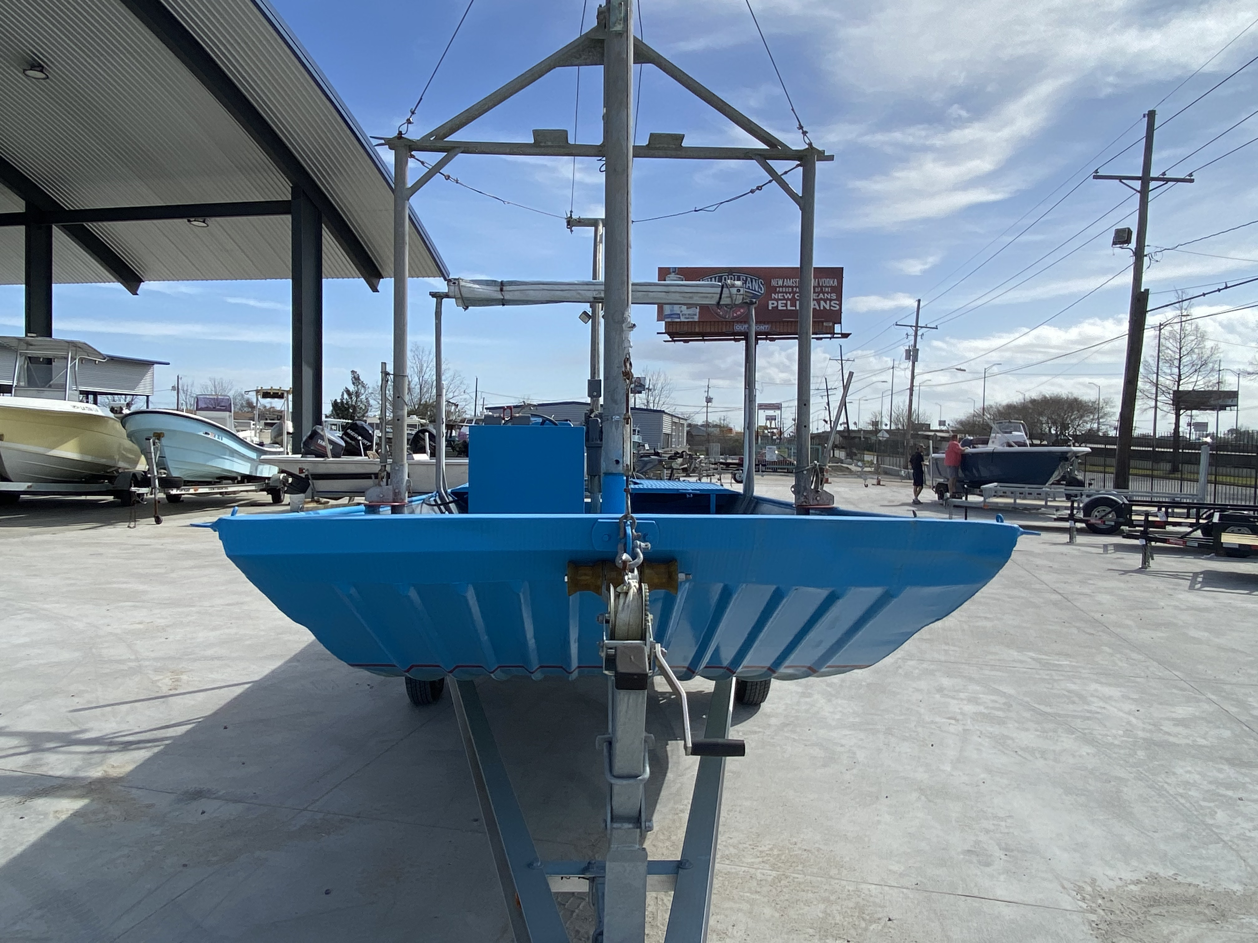 1978 Aluminum boat for sale, model of the boat is 18 Shrimp & Image # 8 of 12