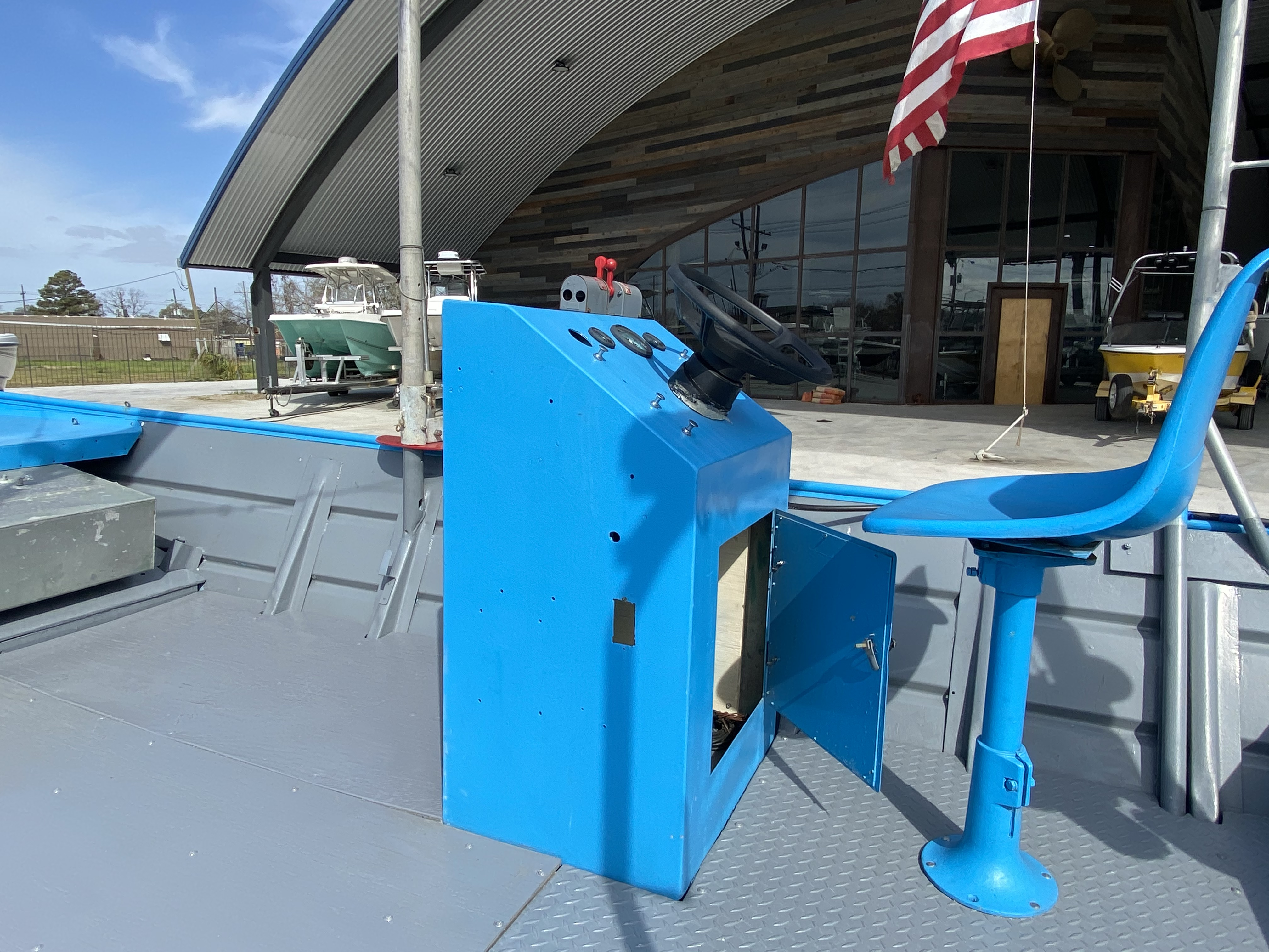 1978 Aluminum boat for sale, model of the boat is 18 Shrimp & Image # 11 of 12
