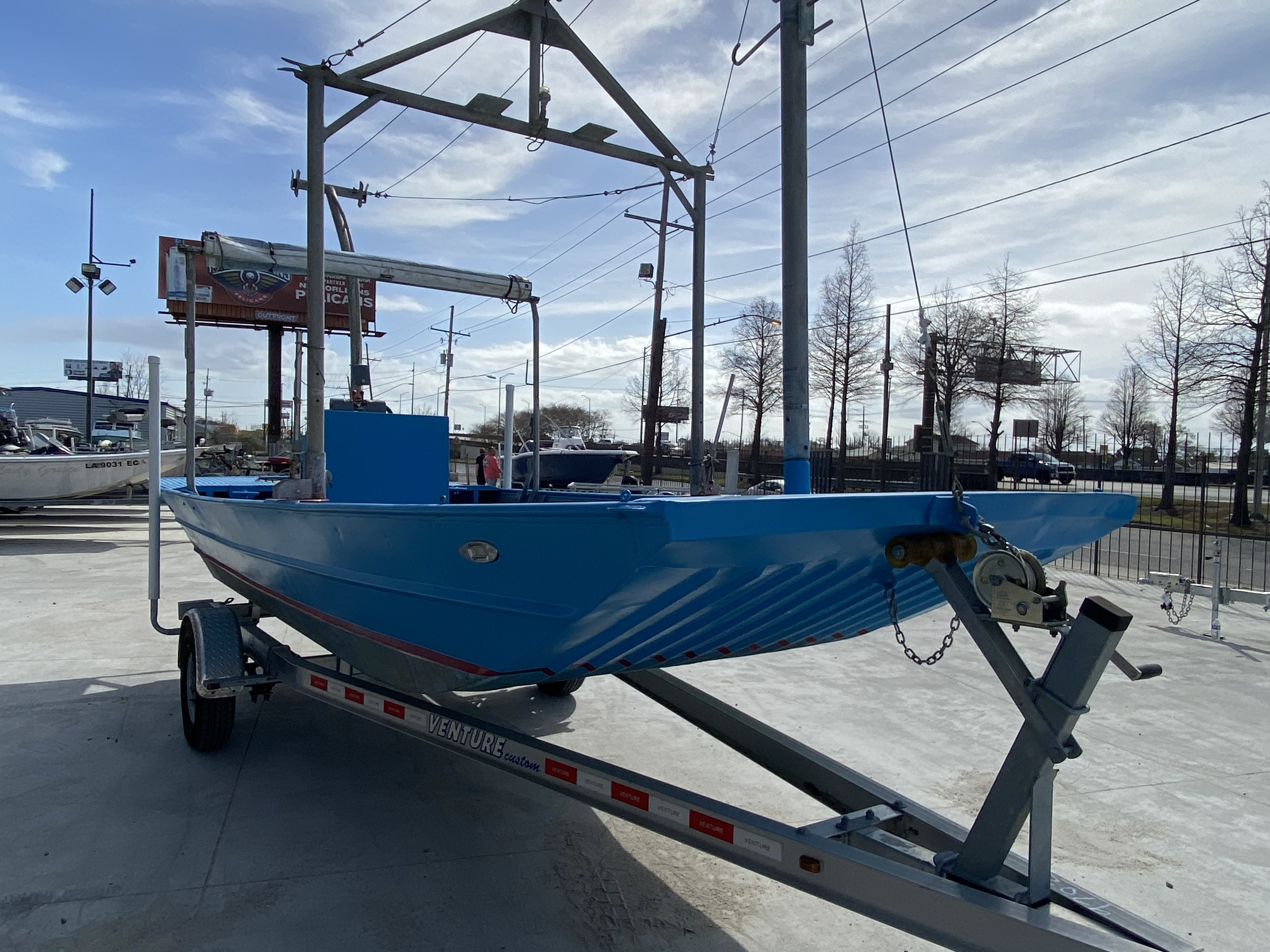 1978 Aluminum boat for sale, model of the boat is 18 Shrimp & Image # 12 of 12
