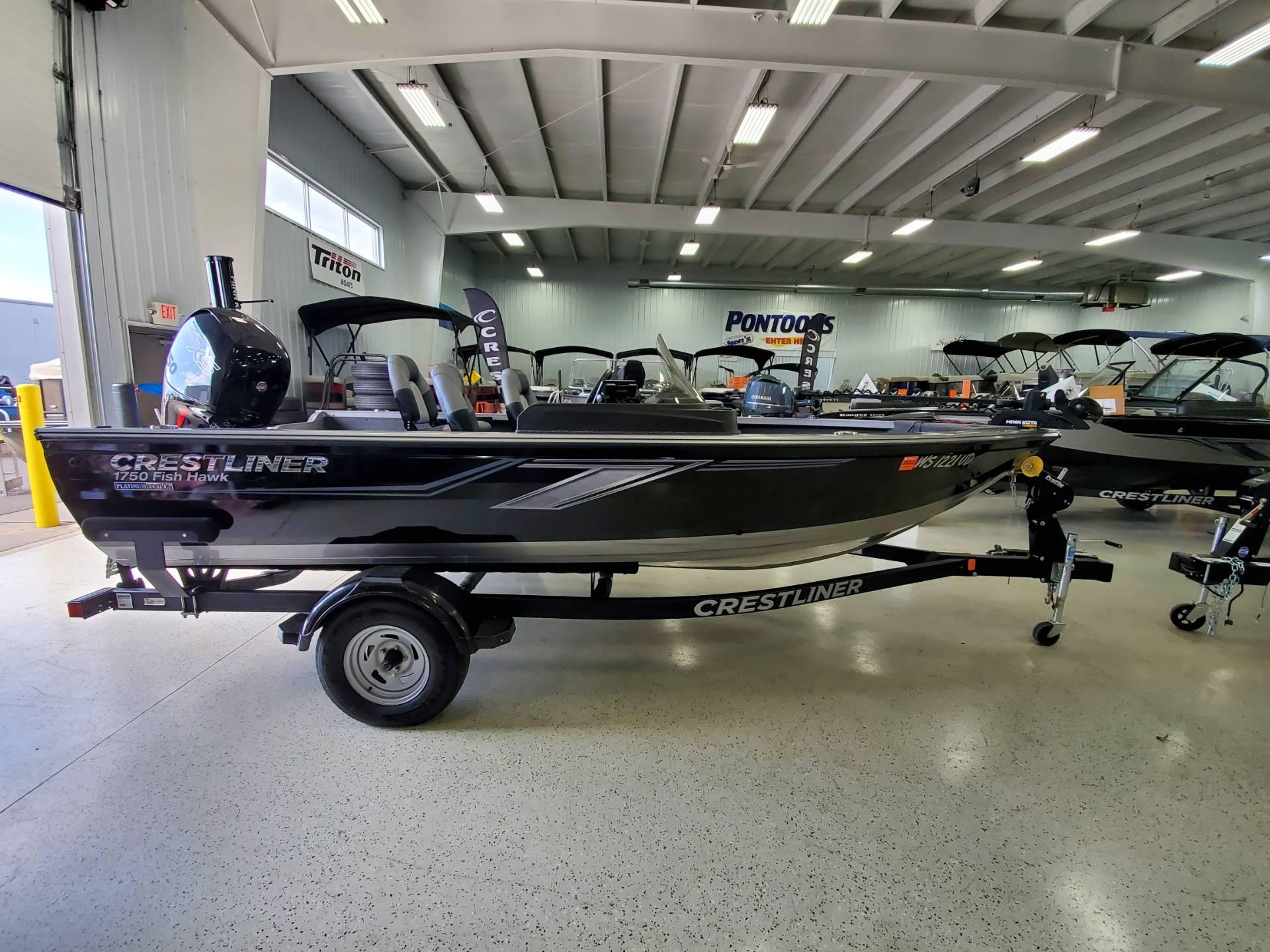 2019 Crestliner 1750 Fish Hawk SC thumbnail