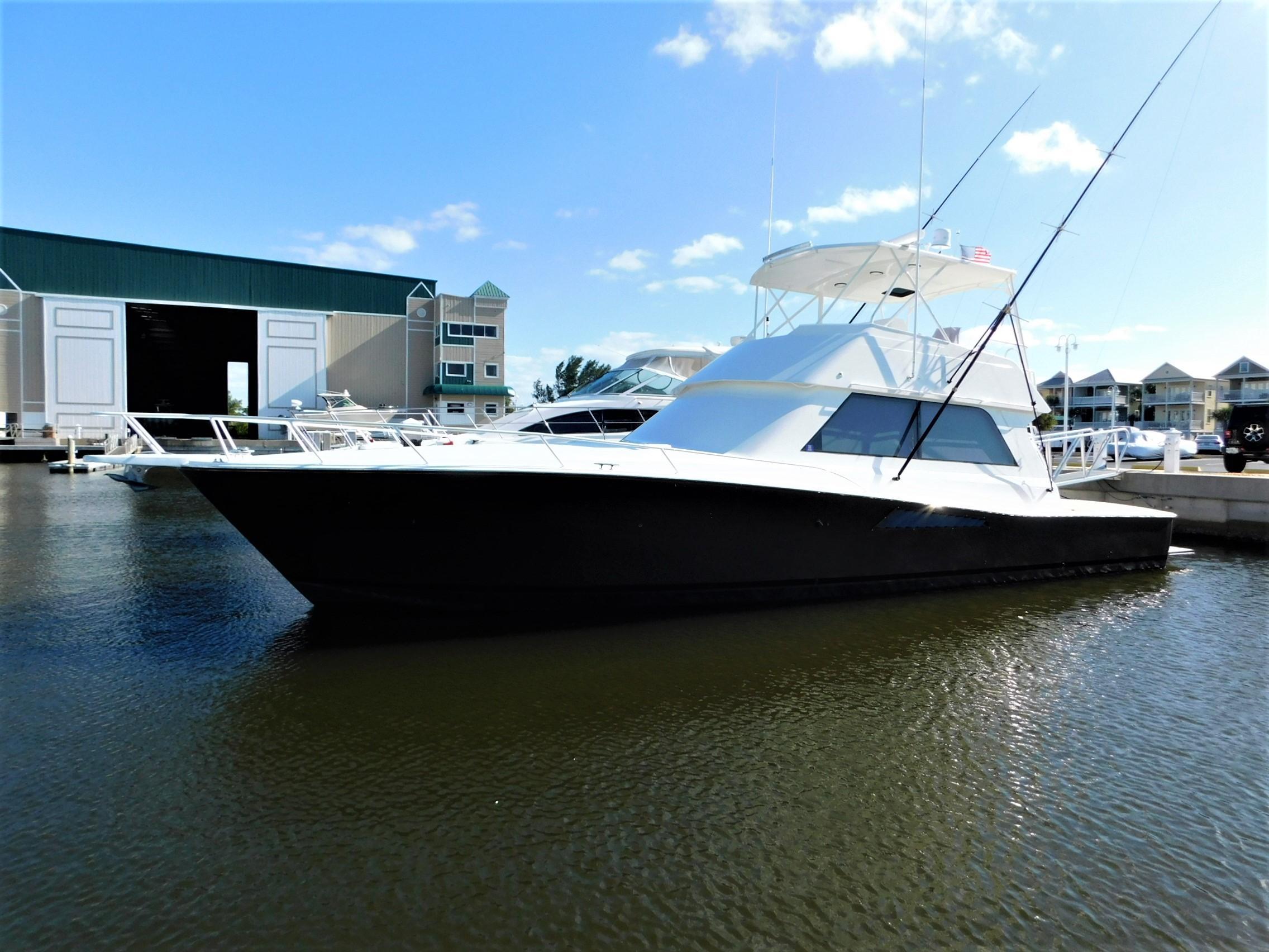 1996 Viking 50 Convertible.