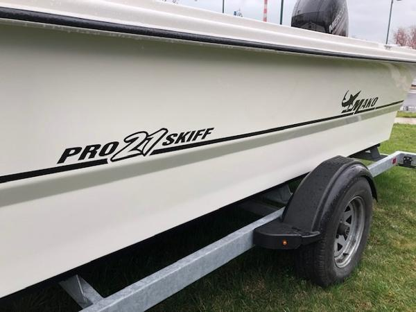 2017 Mako boat for sale, model of the boat is Pro Skiff 21 CC & Image # 4 of 9