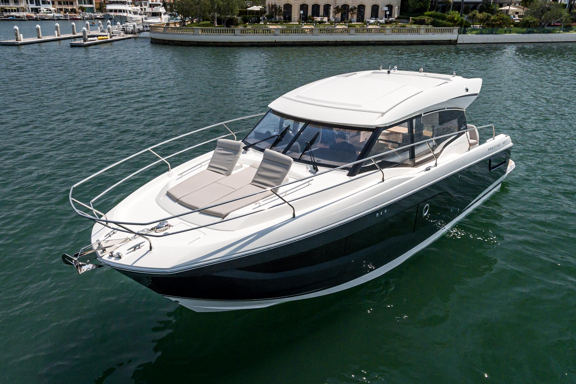 2021 Prestige 420 S #PR026F inventory image at Sun Country Coastal in San Diego