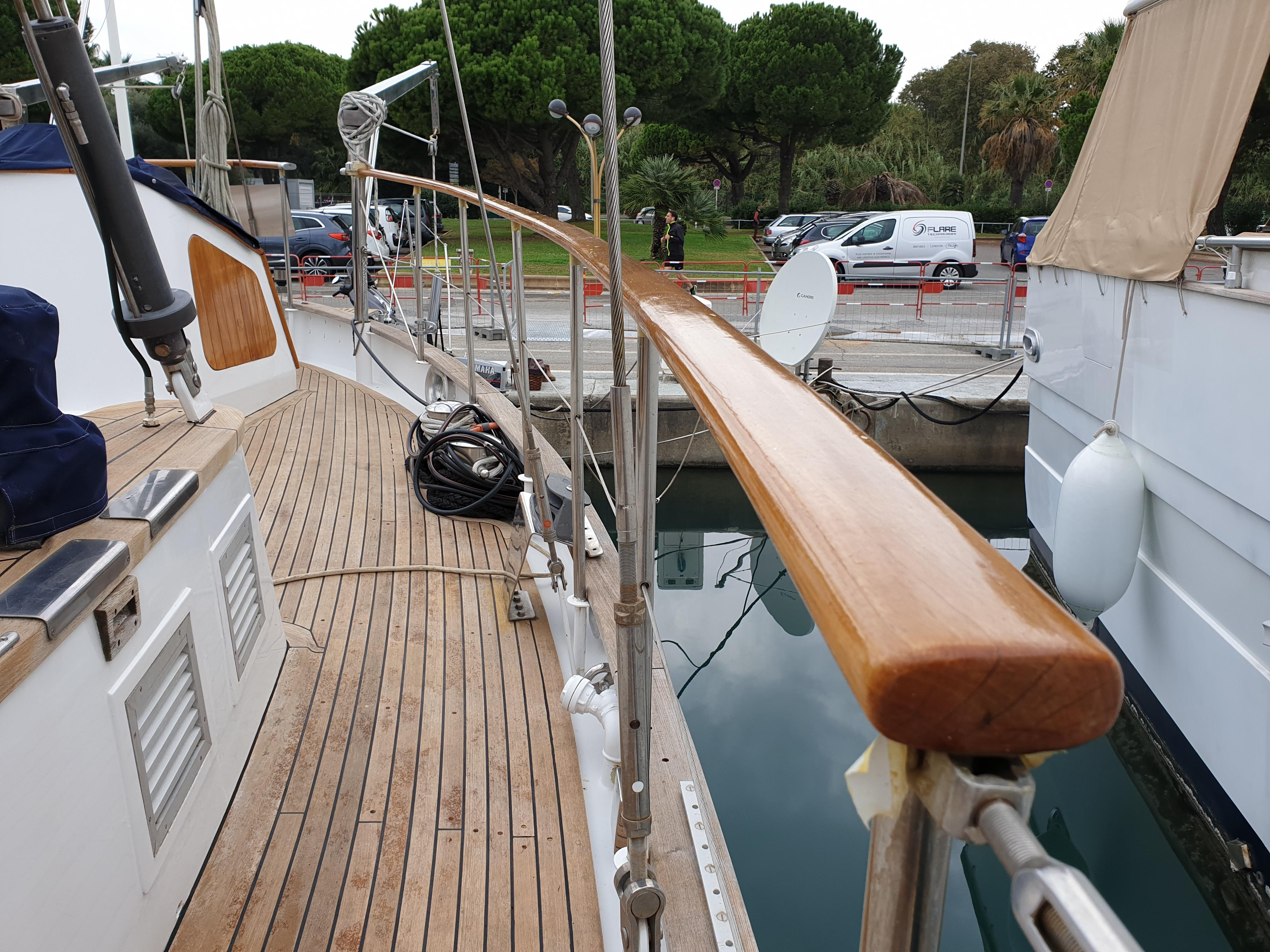 24m Arco Yachts Ketch  Network Yacht Brokers Antibes