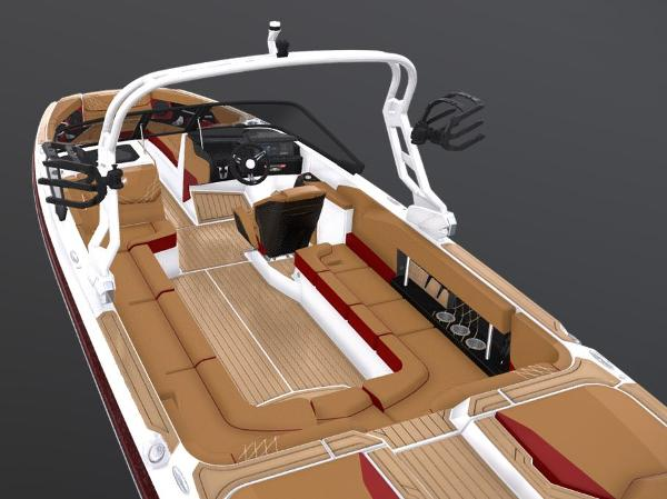 2021 Nautique boat for sale, model of the boat is Super Air Nautique GS24 & Image # 3 of 5