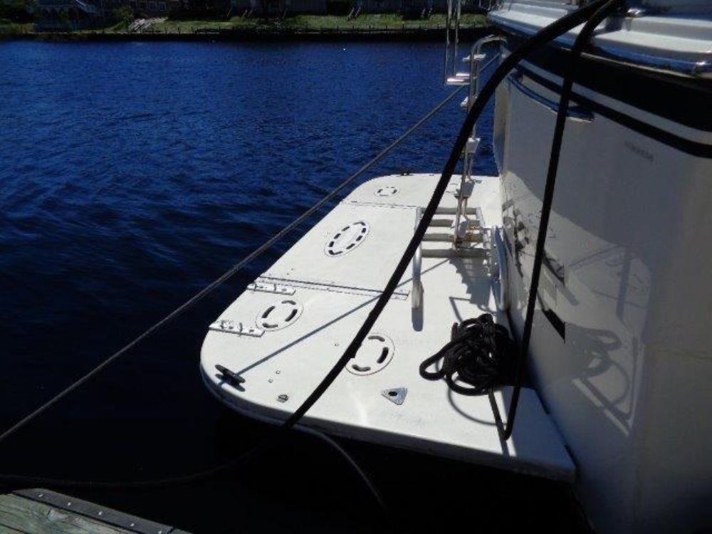 Hatteras 61 Motor Yacht - Swim Platform