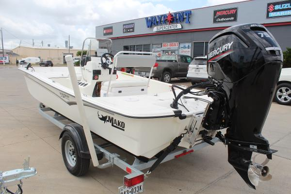 2021 Mako boat for sale, model of the boat is 17 Pro Skiff & Image # 7 of 10
