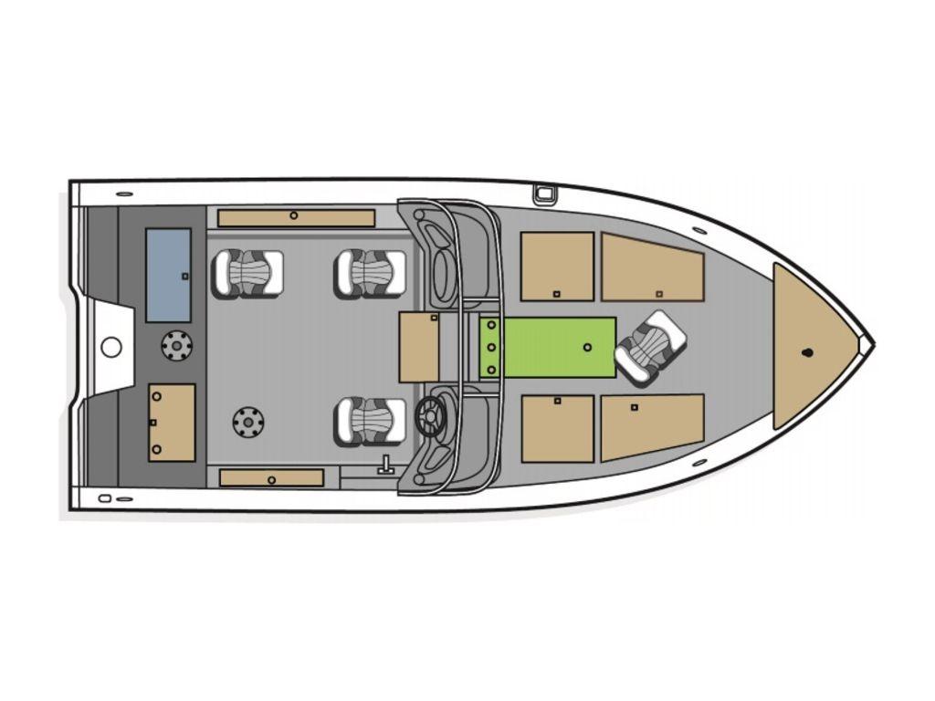 2021 Polar Kraft boat for sale, model of the boat is Kodiak 185 Pro & Image # 12 of 12