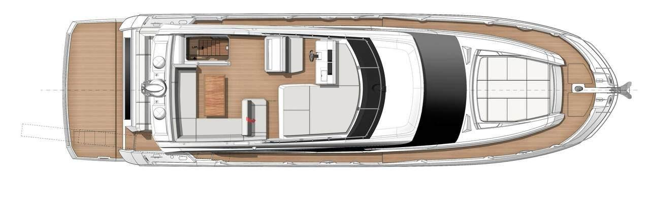 2021 Prestige 520 Fly #75657 inventory image at Sun Country Coastal in Newport Beach