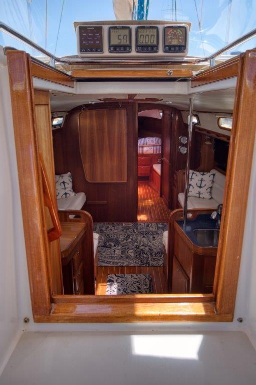 Companionway and instruments