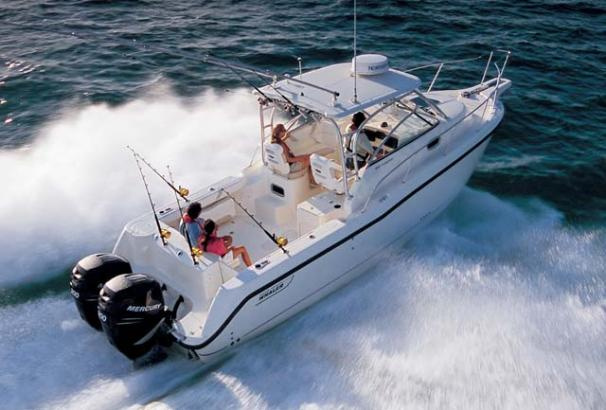 2007 Boston Whaler 285 Conquest #TB3239DH inventory image at Sun Country Coastal in Dana Point