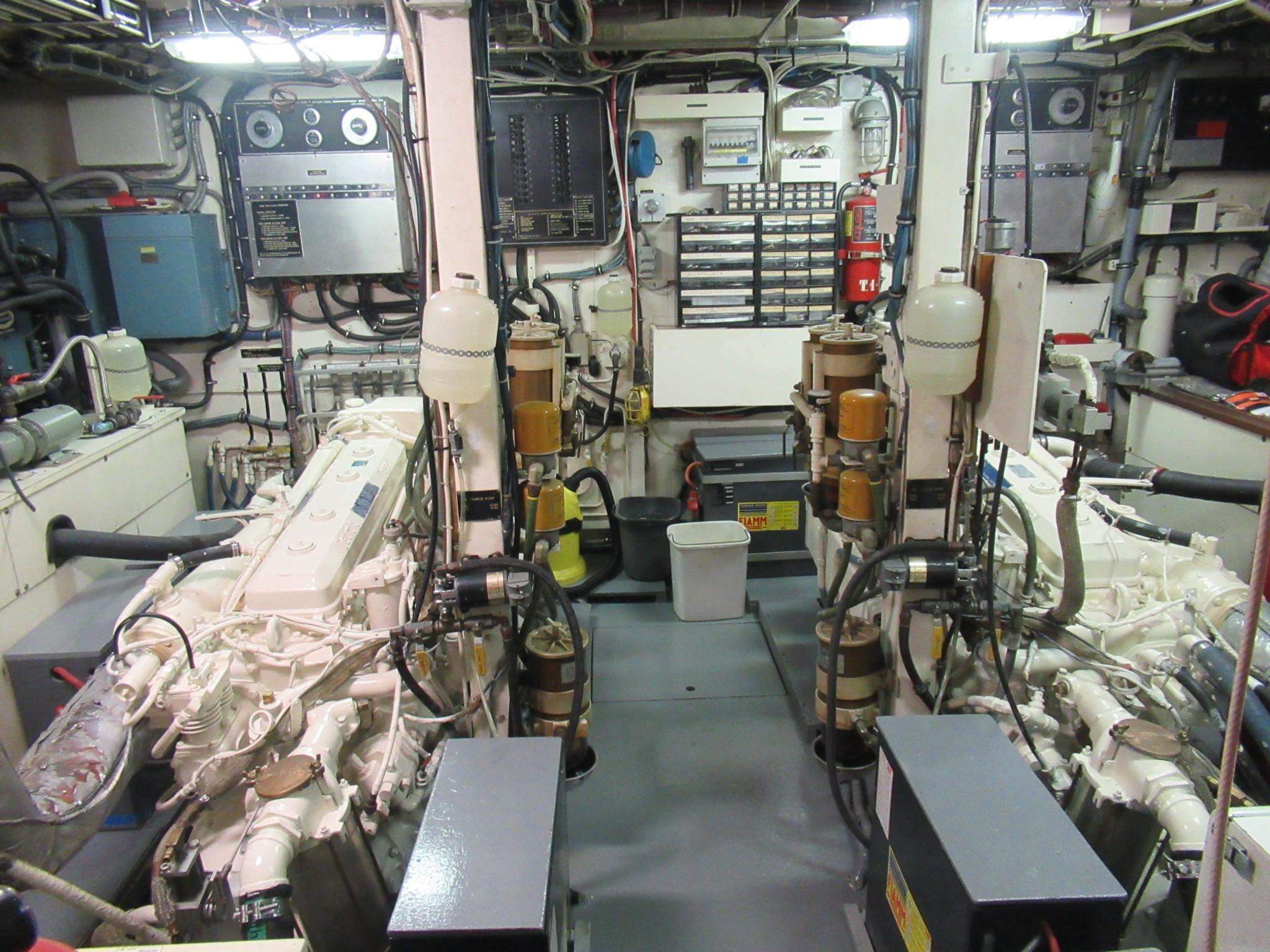 Main Machinery Overhauled and Repainted