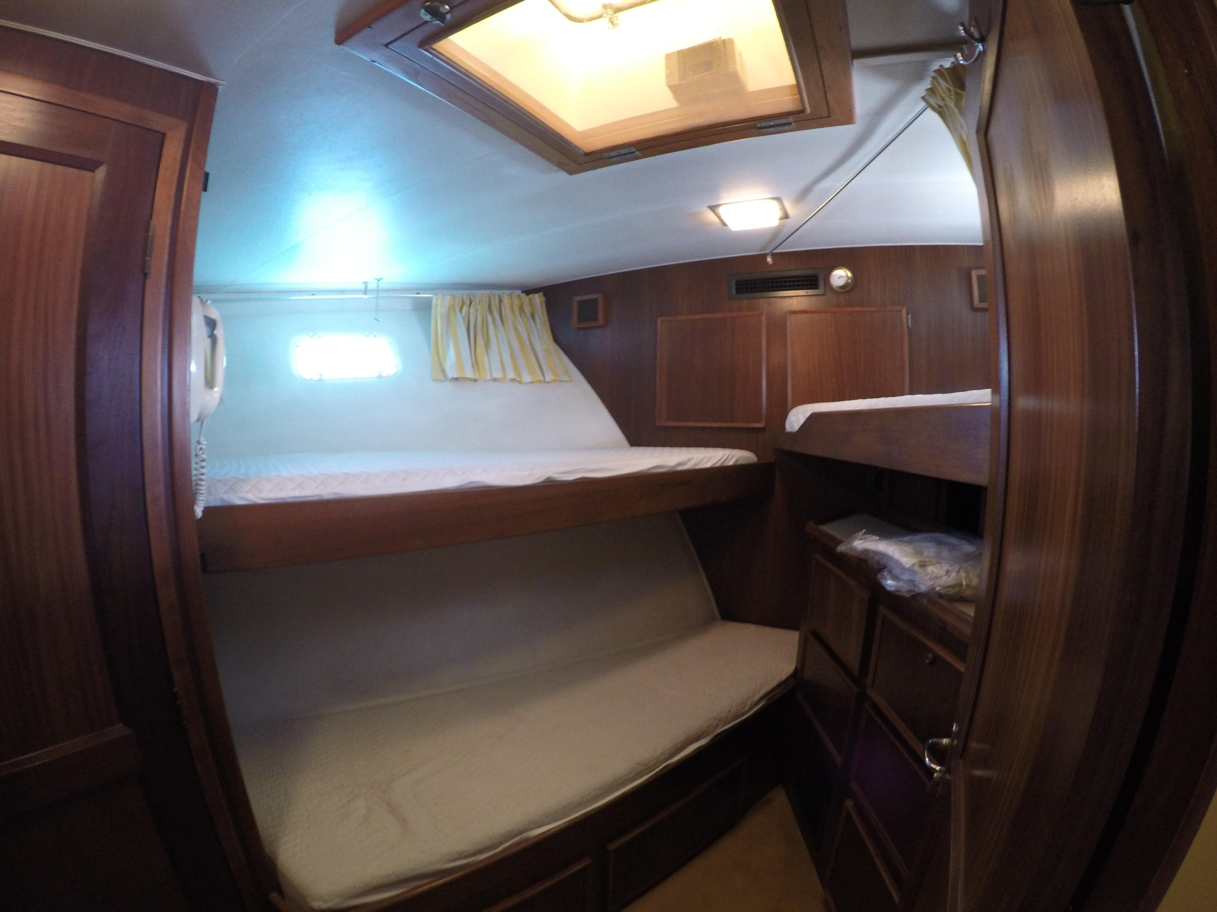 Crew Cabin with ensuite shower/toilet