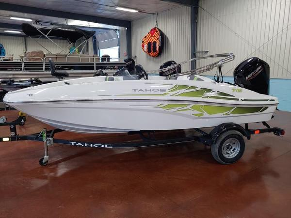 2020 Tahoe boat for sale, model of the boat is T16 & Image # 2 of 6
