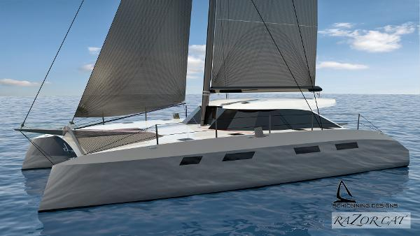 52' Catamaran Razor Cat