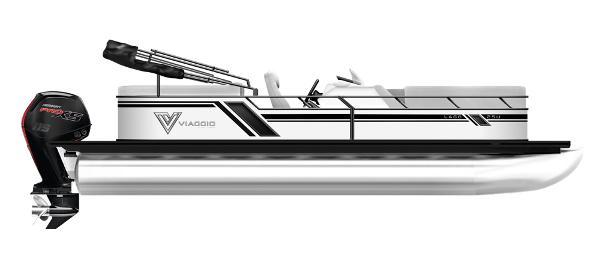 2021 Viaggio L22U Tritoon with 140Hp Suzuki