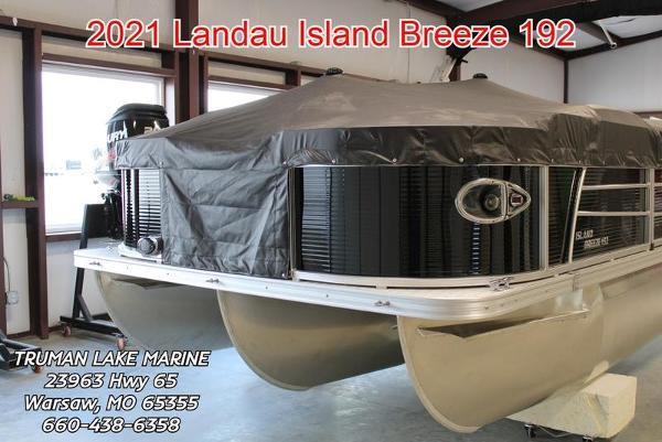 2021 LANDAU BOAT CO 192 Island Breeze Fish- N -Cruise
