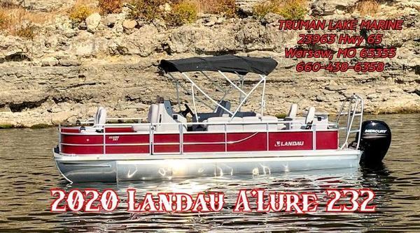 2020 LANDAU BOAT CO 232 CC A'lure Fishing Tri-Log