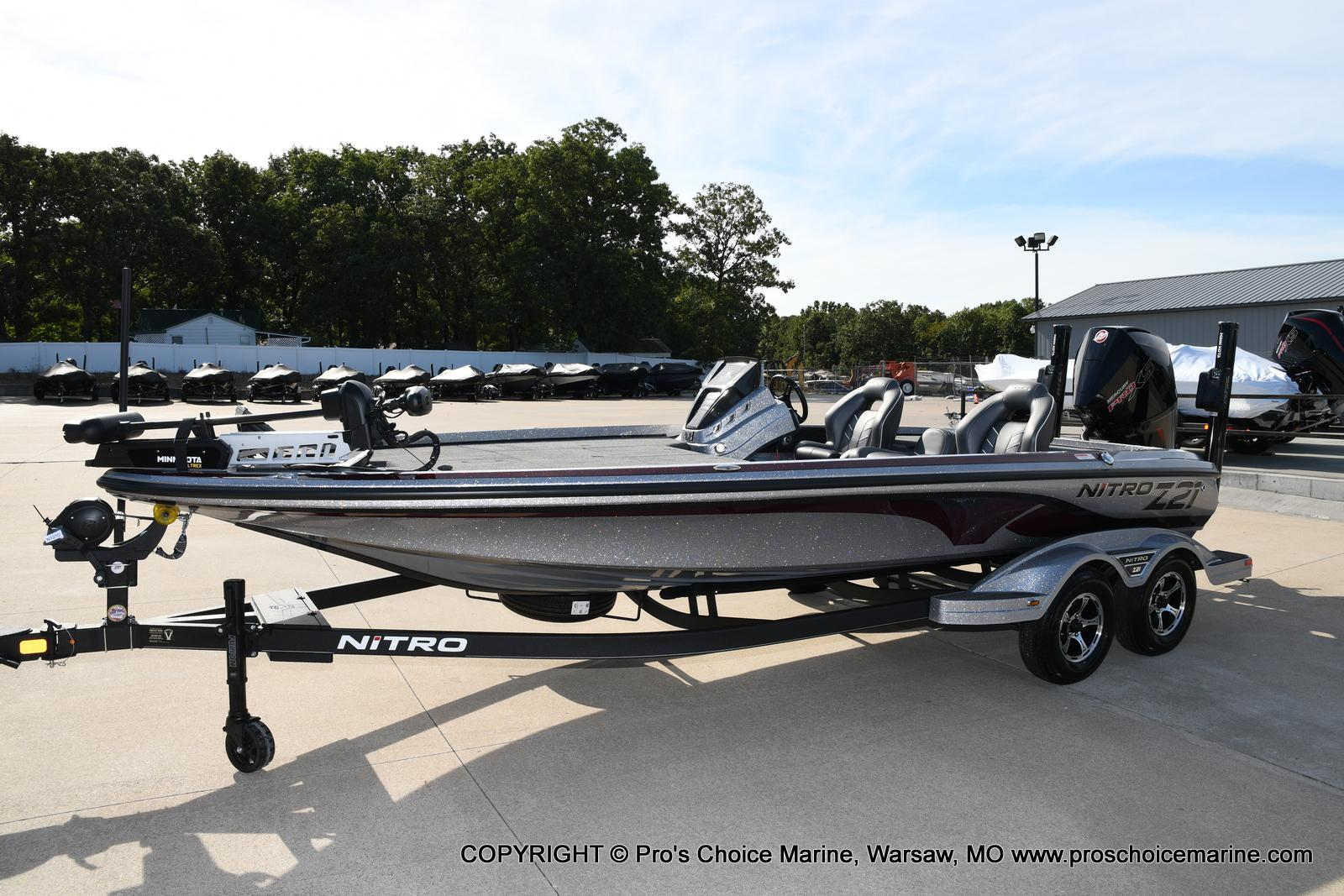 2021 Nitro boat for sale, model of the boat is Z21 Pro Package & Image # 2 of 50