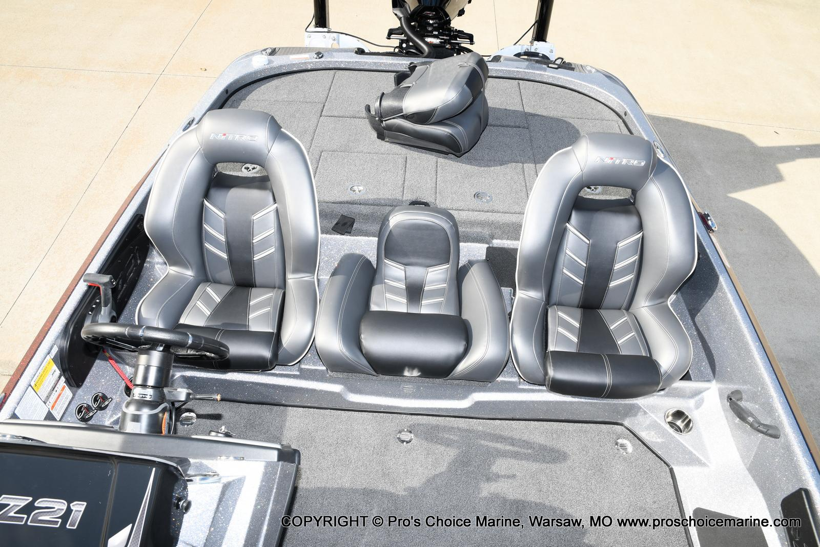 2021 Nitro boat for sale, model of the boat is Z21 Pro Package & Image # 23 of 50