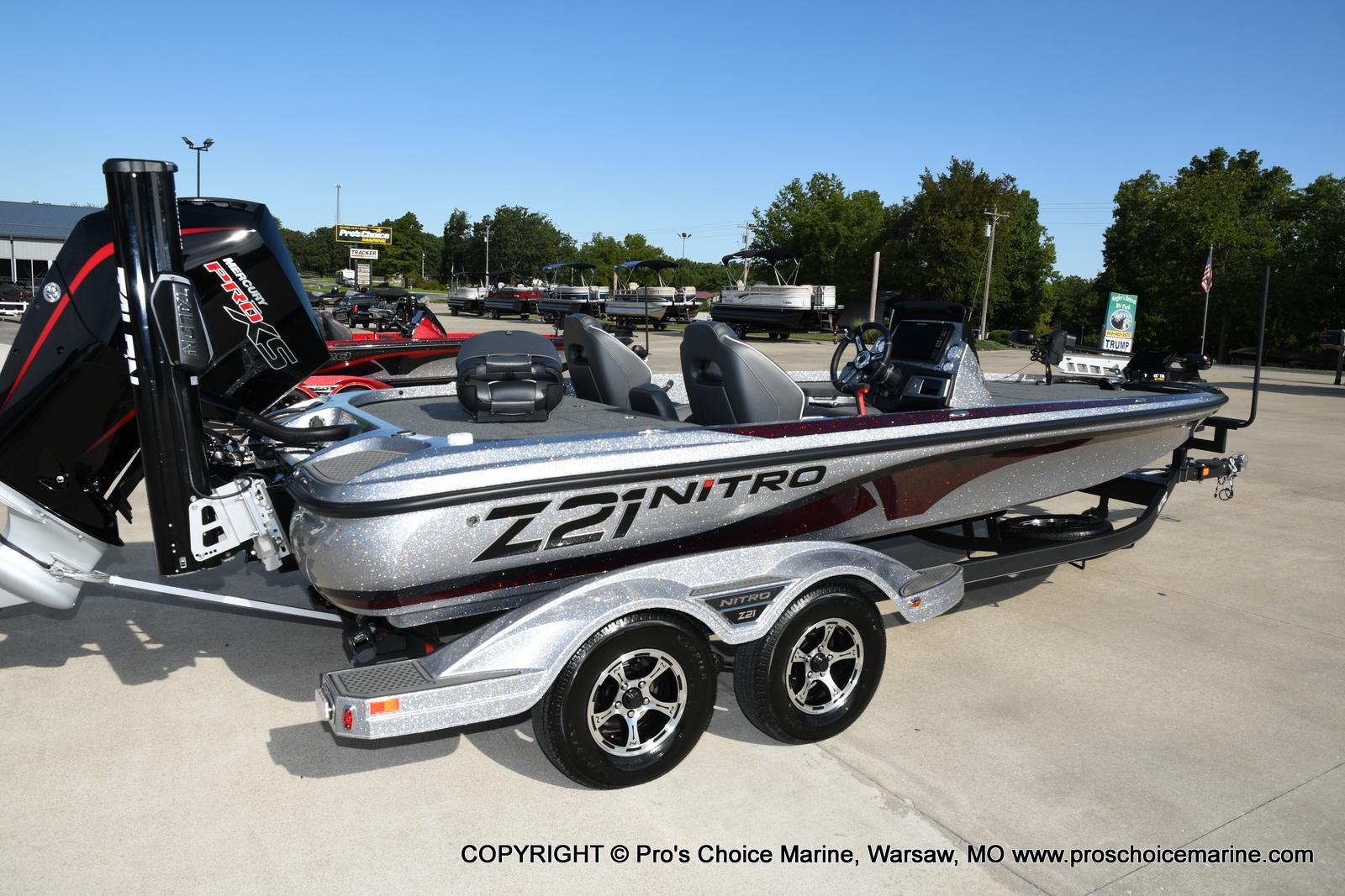 2021 Nitro boat for sale, model of the boat is Z21 Pro Package & Image # 30 of 50
