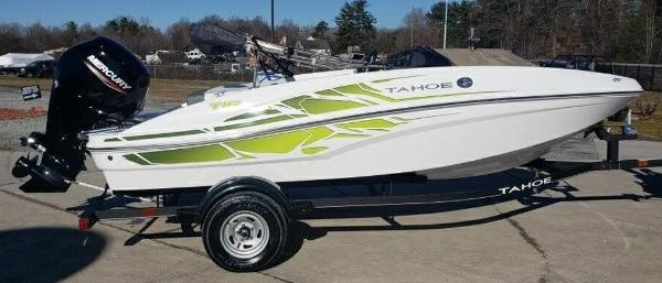 2021 Tahoe boat for sale, model of the boat is T16 & Image # 2 of 10