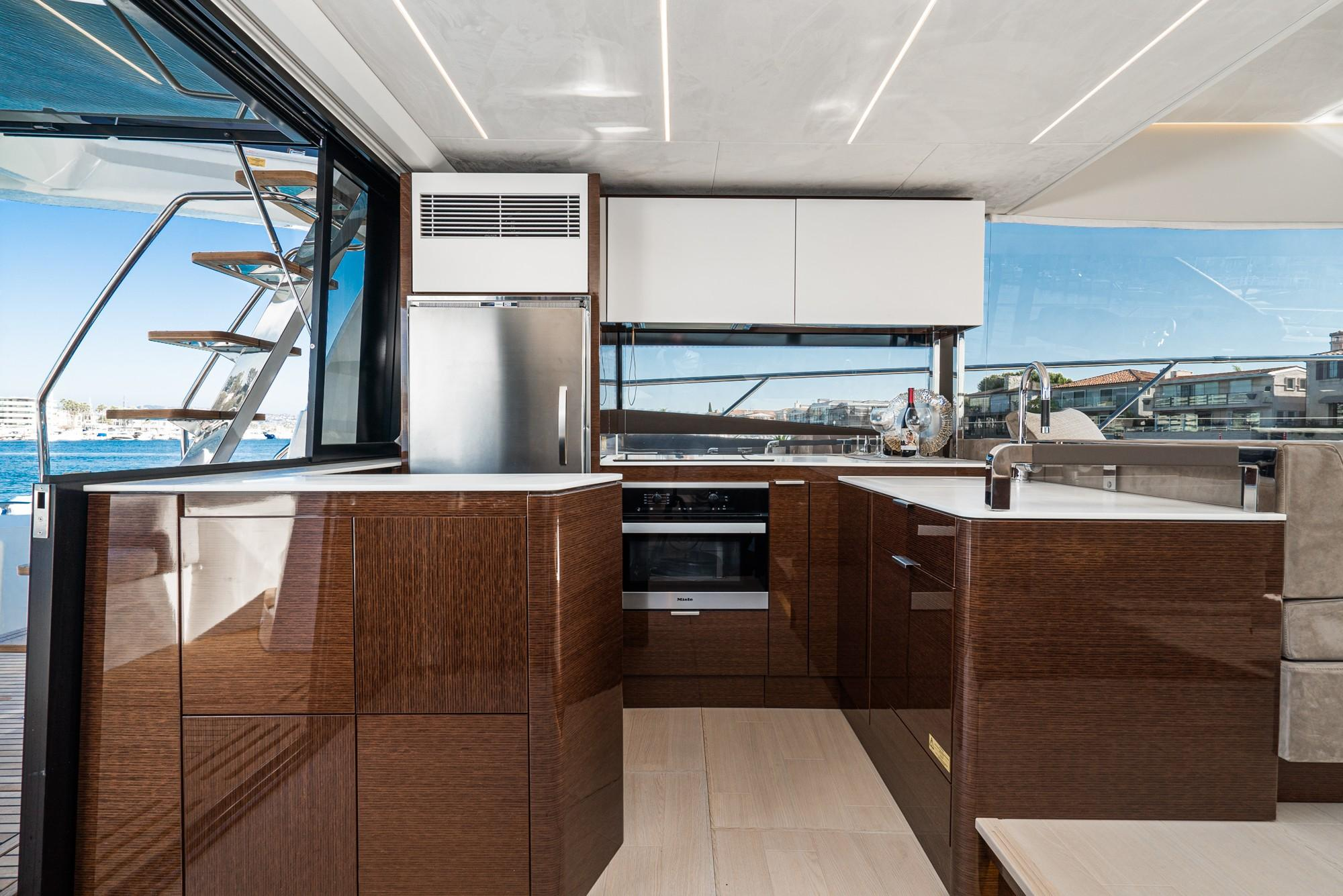 2020 Prestige 590 Fly #PR040L inventory image at Sun Country Coastal in Newport Beach