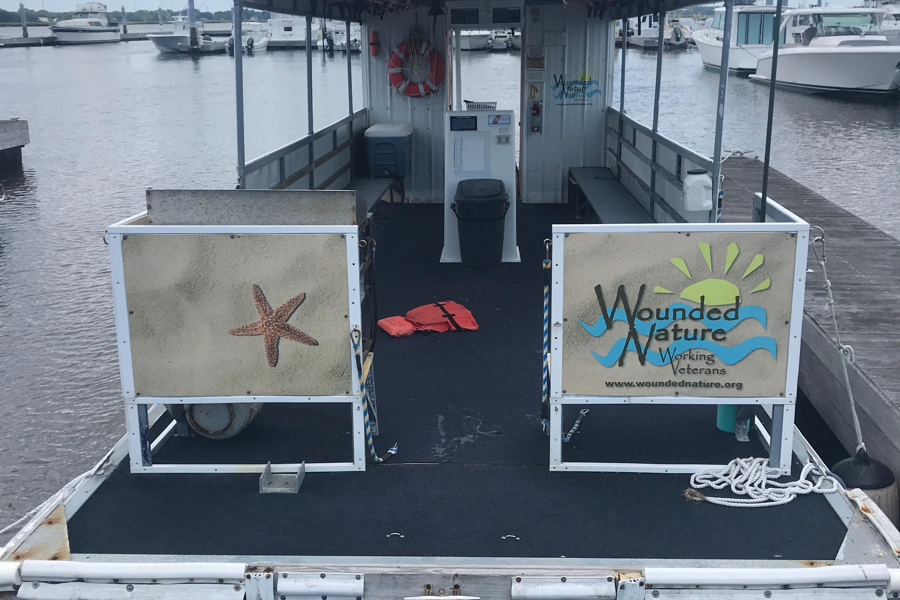 Southern Star 32 Commerical Catamaran - Foward looking aft