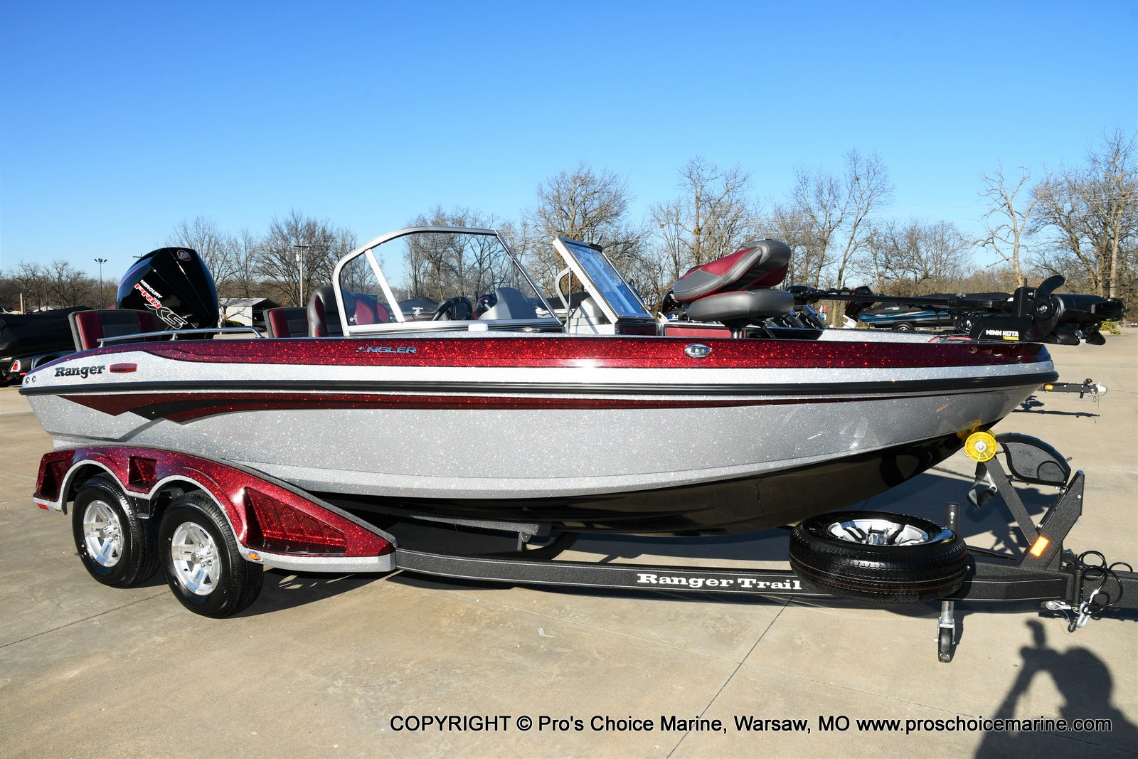 2021 Ranger Boats boat for sale, model of the boat is 1880MS Angler w/200HP Pro-XS & Image # 1 of 50