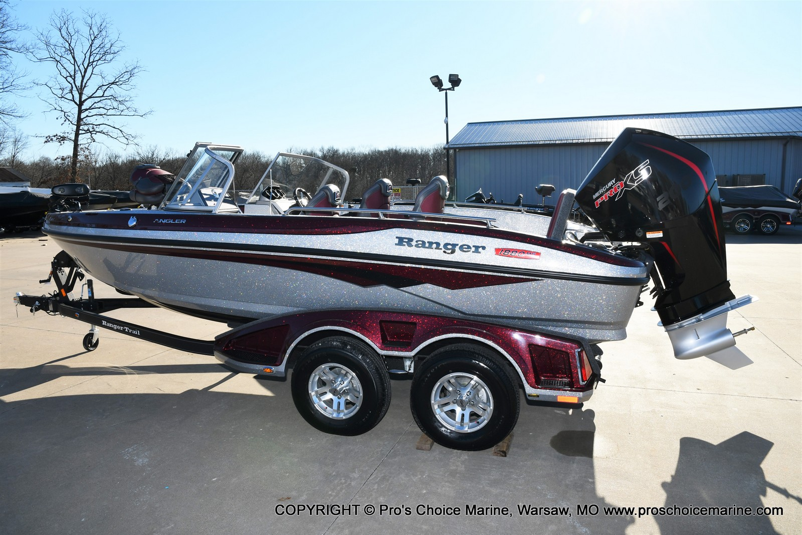 2021 Ranger Boats boat for sale, model of the boat is 1880MS Angler w/200HP Pro-XS & Image # 33 of 50