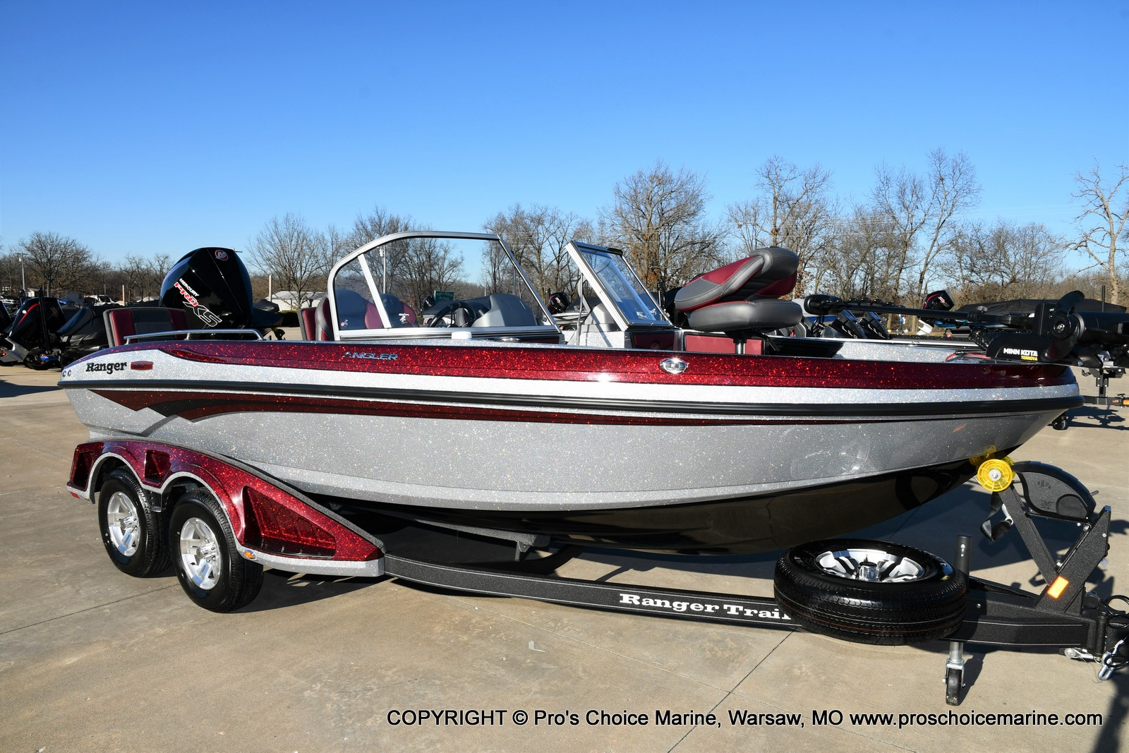 2021 Ranger Boats boat for sale, model of the boat is 1880MS Angler w/200HP Pro-XS & Image # 44 of 50