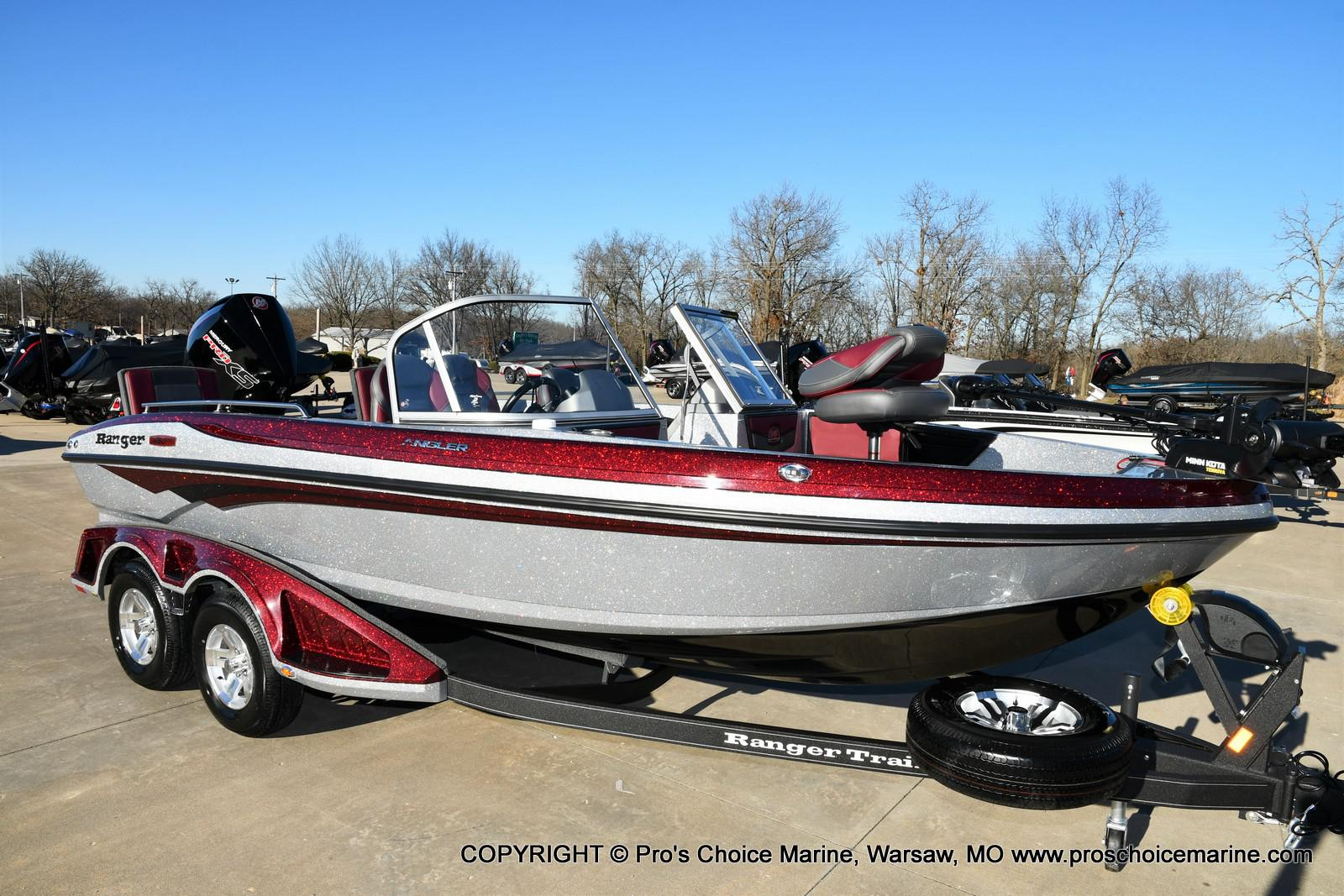 2021 Ranger Boats boat for sale, model of the boat is 1880MS Angler w/200HP Pro-XS & Image # 2 of 50
