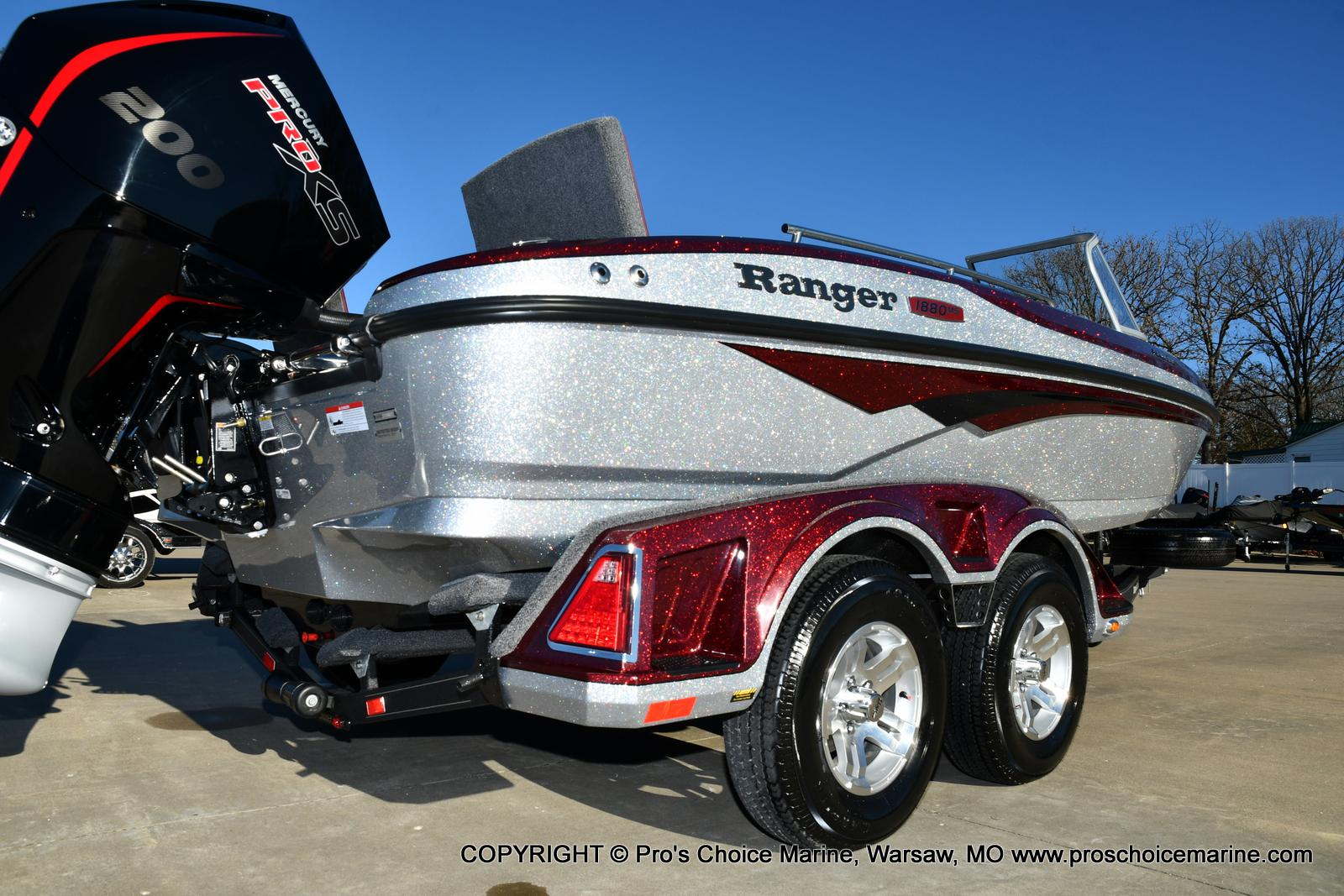 2021 Ranger Boats boat for sale, model of the boat is 1880MS Angler w/200HP Pro-XS & Image # 3 of 50