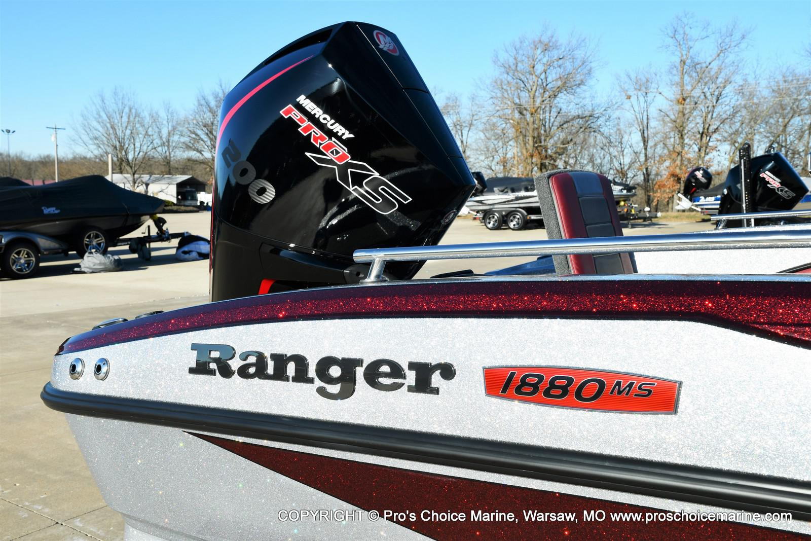 2021 Ranger Boats boat for sale, model of the boat is 1880MS Angler w/200HP Pro-XS & Image # 15 of 50