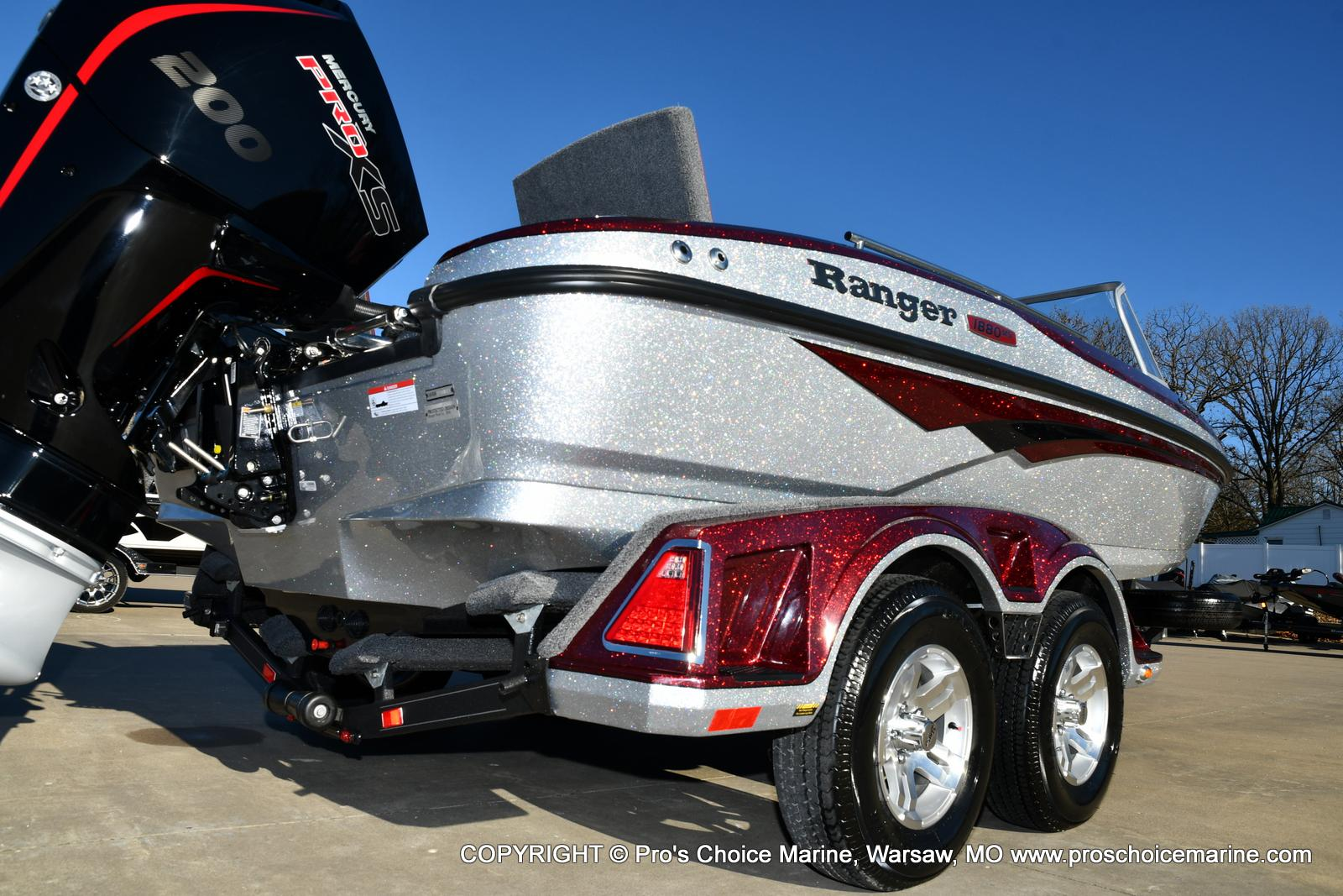 2021 Ranger Boats boat for sale, model of the boat is 1880MS Angler w/200HP Pro-XS & Image # 16 of 50