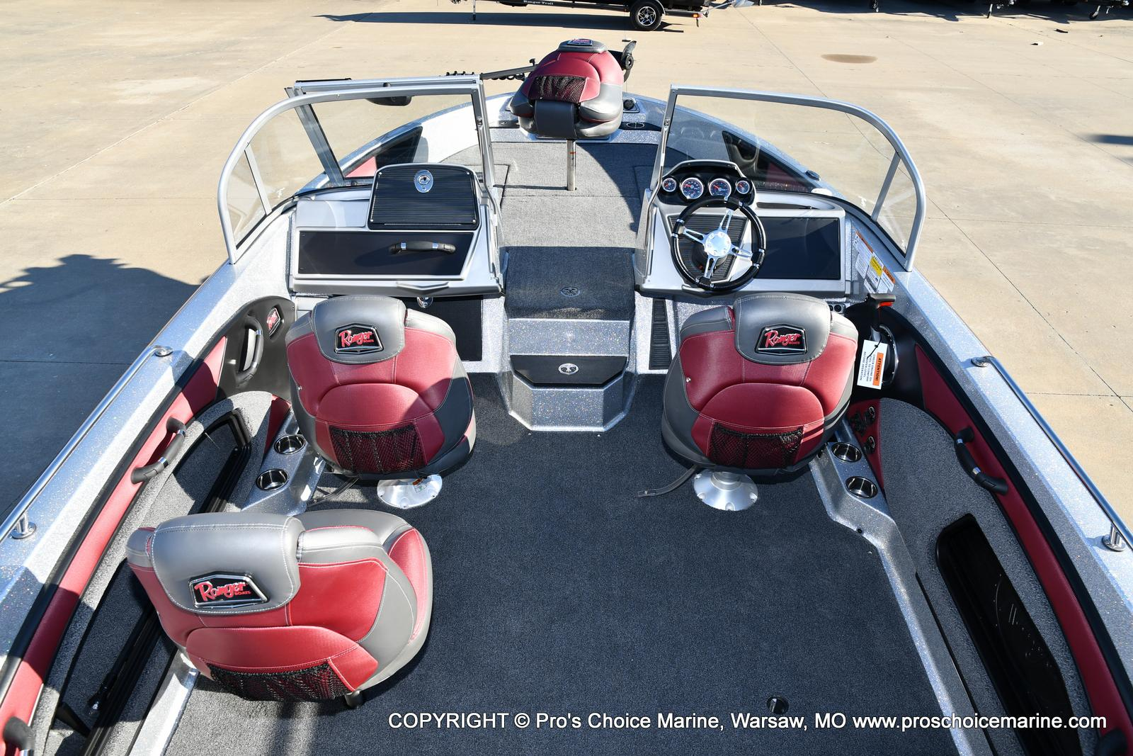 2021 Ranger Boats boat for sale, model of the boat is 1880MS Angler w/200HP Pro-XS & Image # 24 of 50