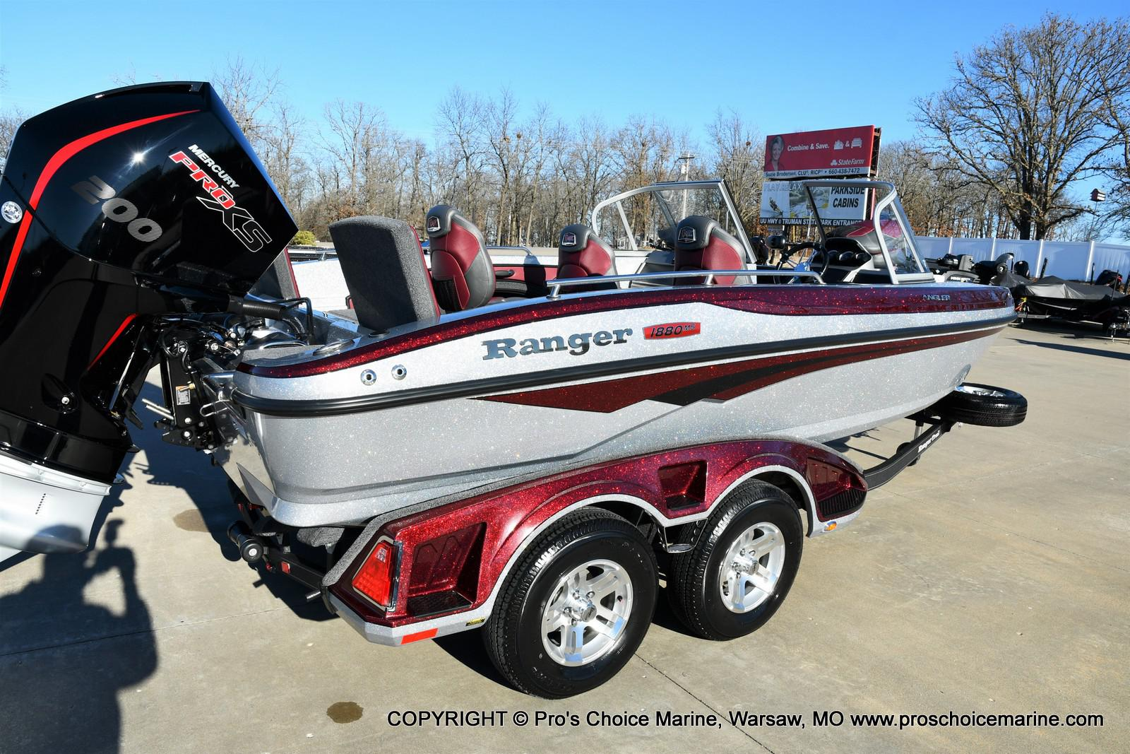 2021 Ranger Boats boat for sale, model of the boat is 1880MS Angler w/200HP Pro-XS & Image # 45 of 50