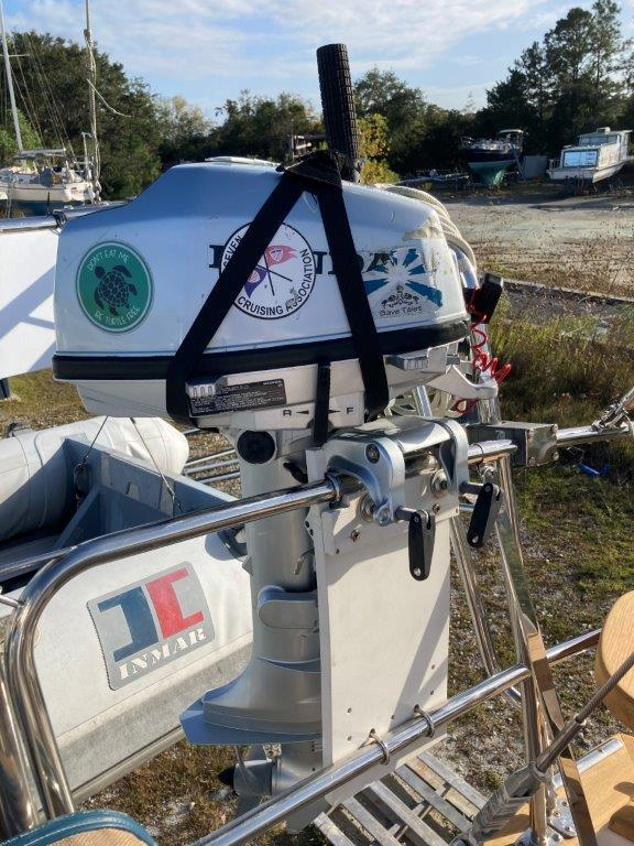 Outboard and outboard mount