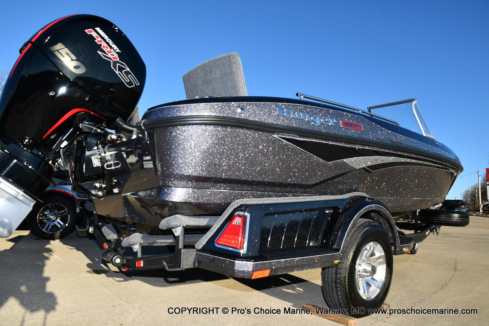 2021 Ranger Boats boat for sale, model of the boat is 1880MS Angler w/150HP Pro-XS & Image # 11 of 50