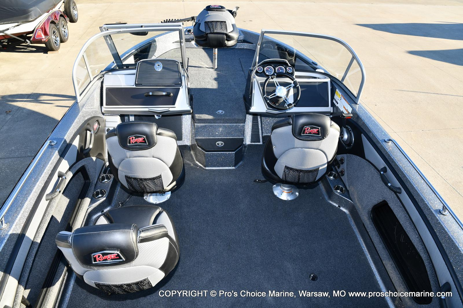 2021 Ranger Boats boat for sale, model of the boat is 1880MS Angler w/150HP Pro-XS & Image # 7 of 50